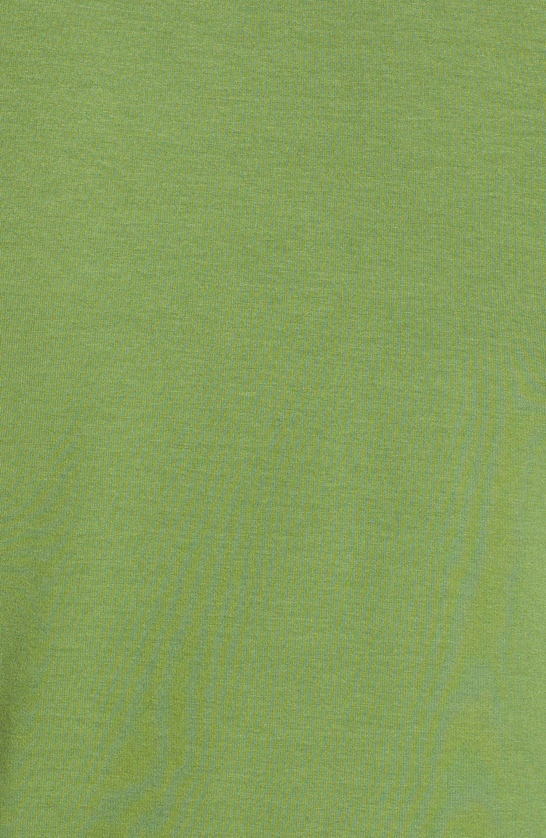 Alternate Image 5  - Vince Camuto Short Sleeve Side Pleat Asymmetrical Top (Plus Size)