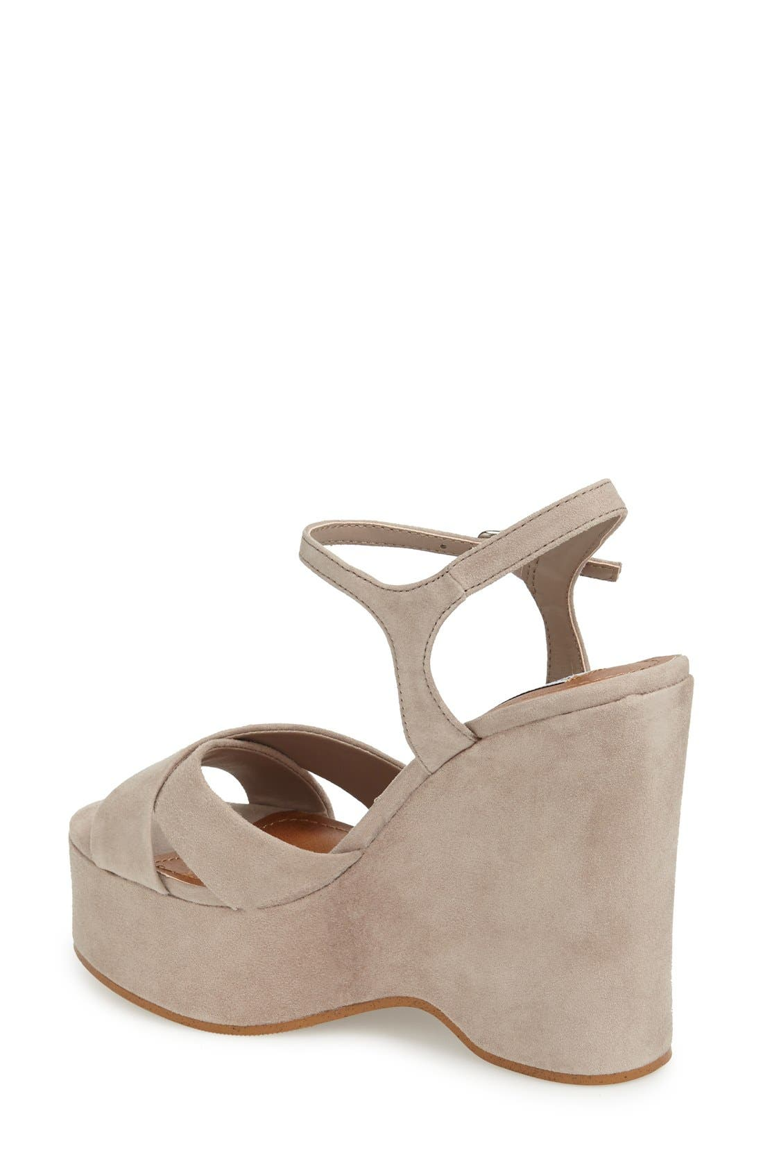 Alternate Image 2  - Steve Madden 'Casper' Platform Wedge Sandal (Women)