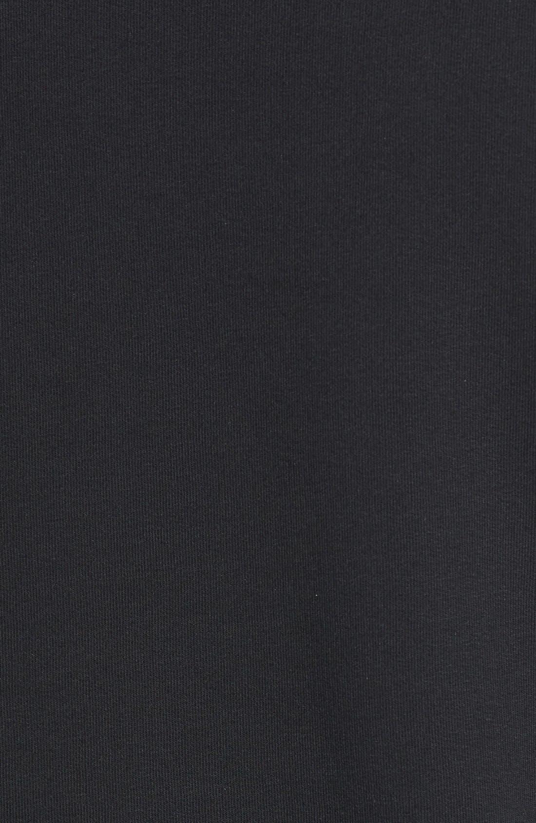 Alternate Image 5  - Cheap Monday 'Exact' Zip Hem Sweatshirt