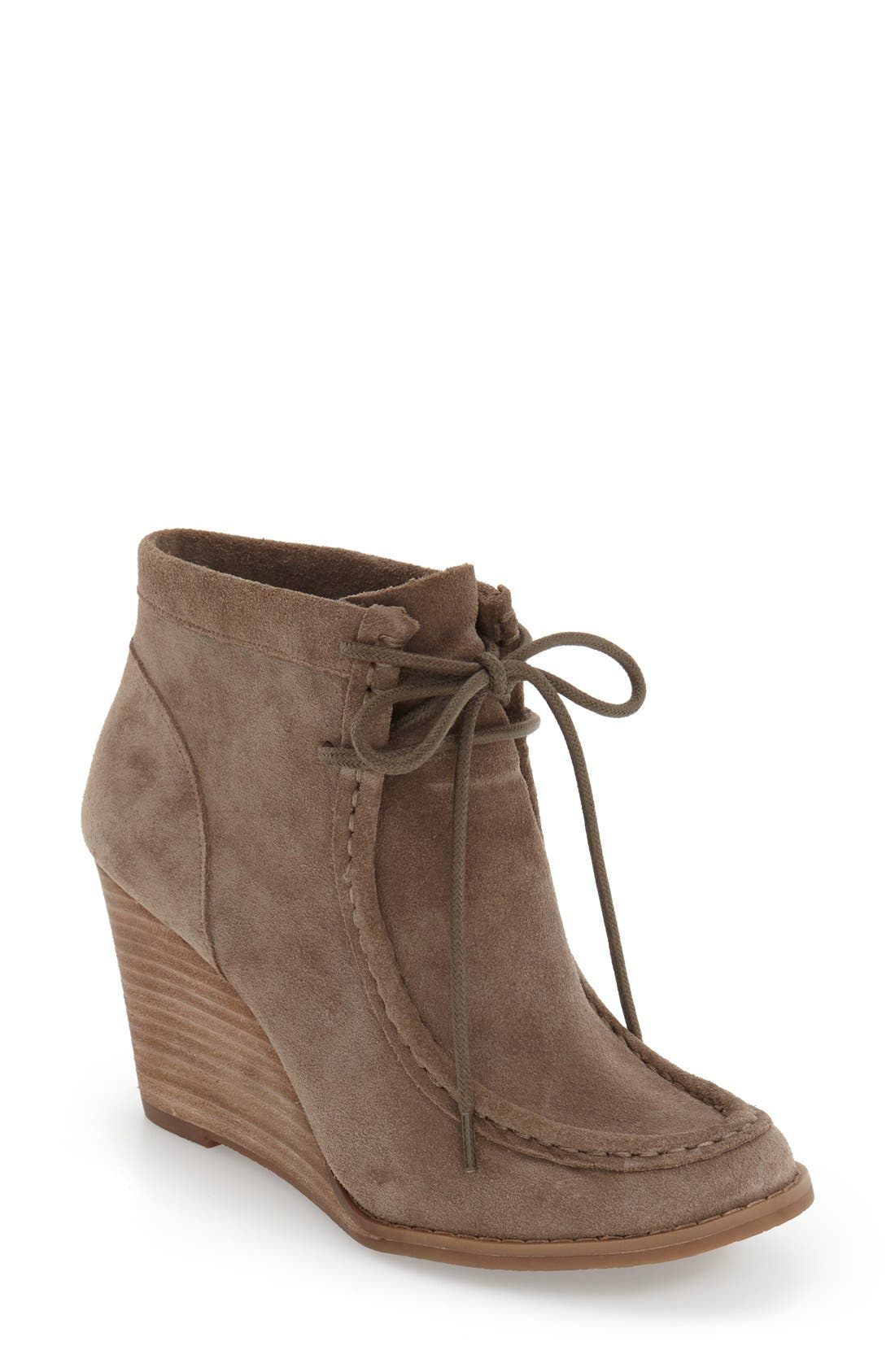 Alternate Image 1 Selected - Lucky Brand 'Ysabel' Wedge Chukka Boot (Women)