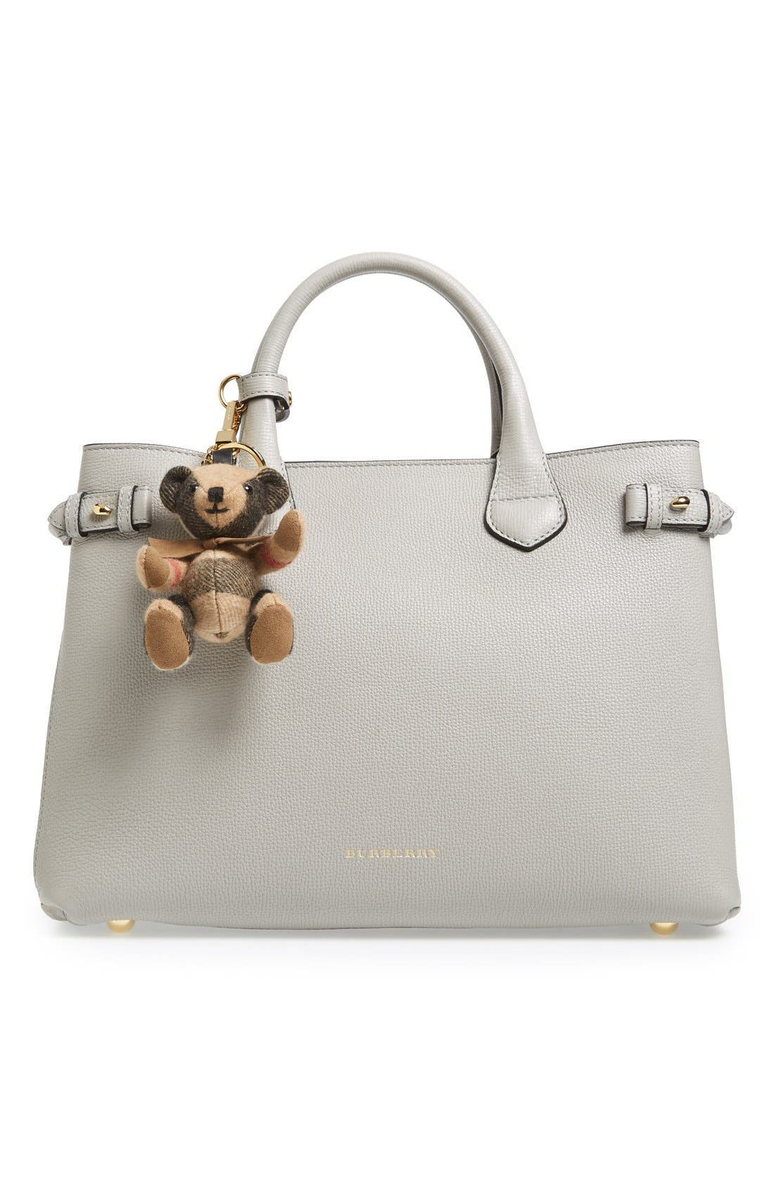 Alternate Image 2  - Burberry 'Thomas Bear' Check Cashmere Bag Charm