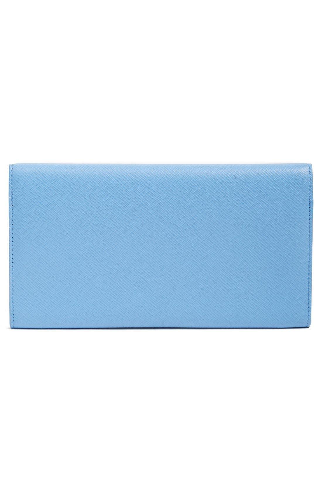 'Panama Marshall' Travel Wallet,                             Alternate thumbnail 4, color,                             Nile Blue