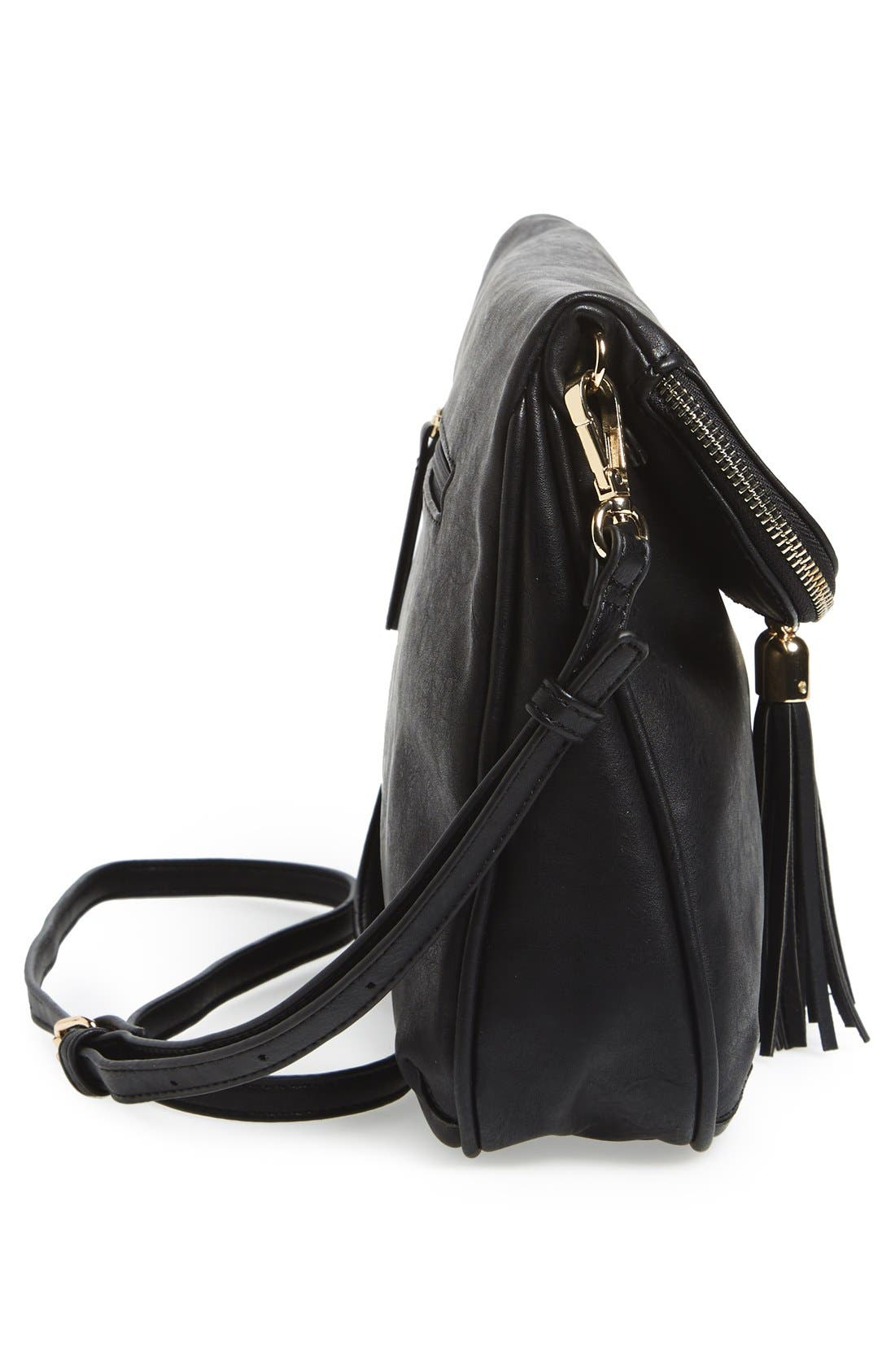 Alternate Image 4  - BP. Foldover Crossbody Bag