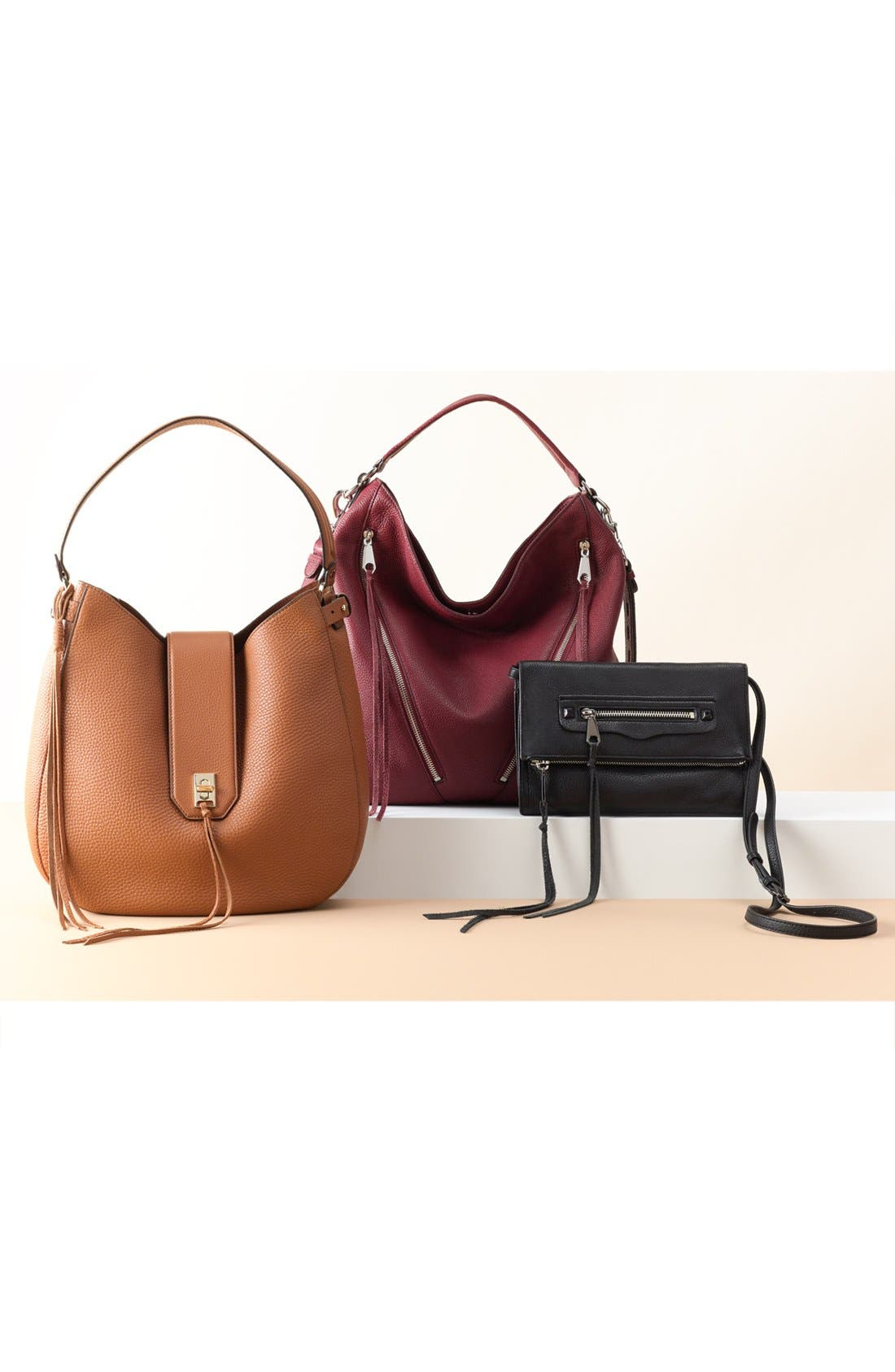 Alternate Image 7  - Rebecca Minkoff 'Darren' Leather Hobo Bag