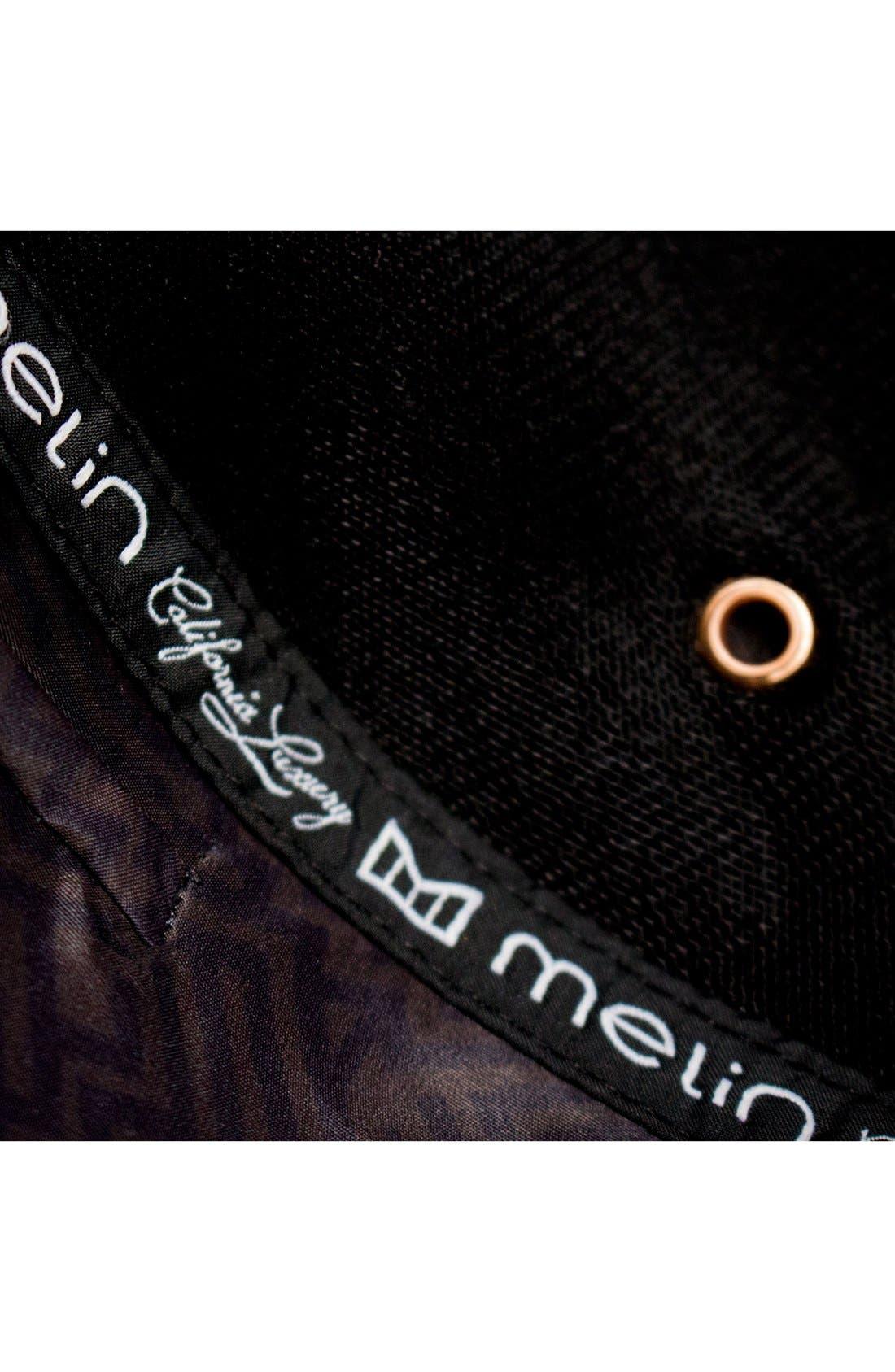 'The Majesty' Mesh Back Snapback Hat,                             Alternate thumbnail 9, color,                             Black
