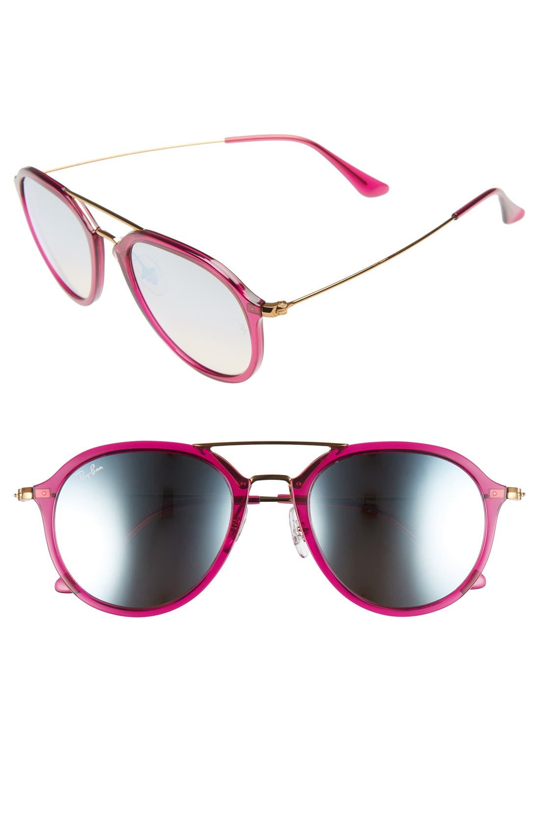 Ray-Ban Youngster 53mm Aviator Sunglasses