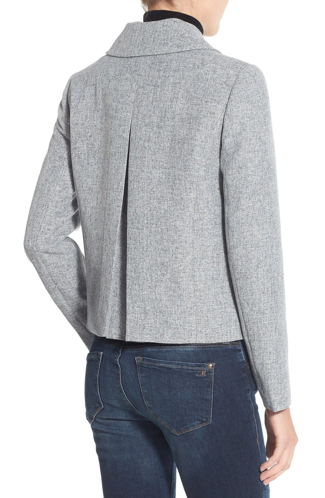 Alternate Image 2  - Halogen® Swing Jacket (Petite)