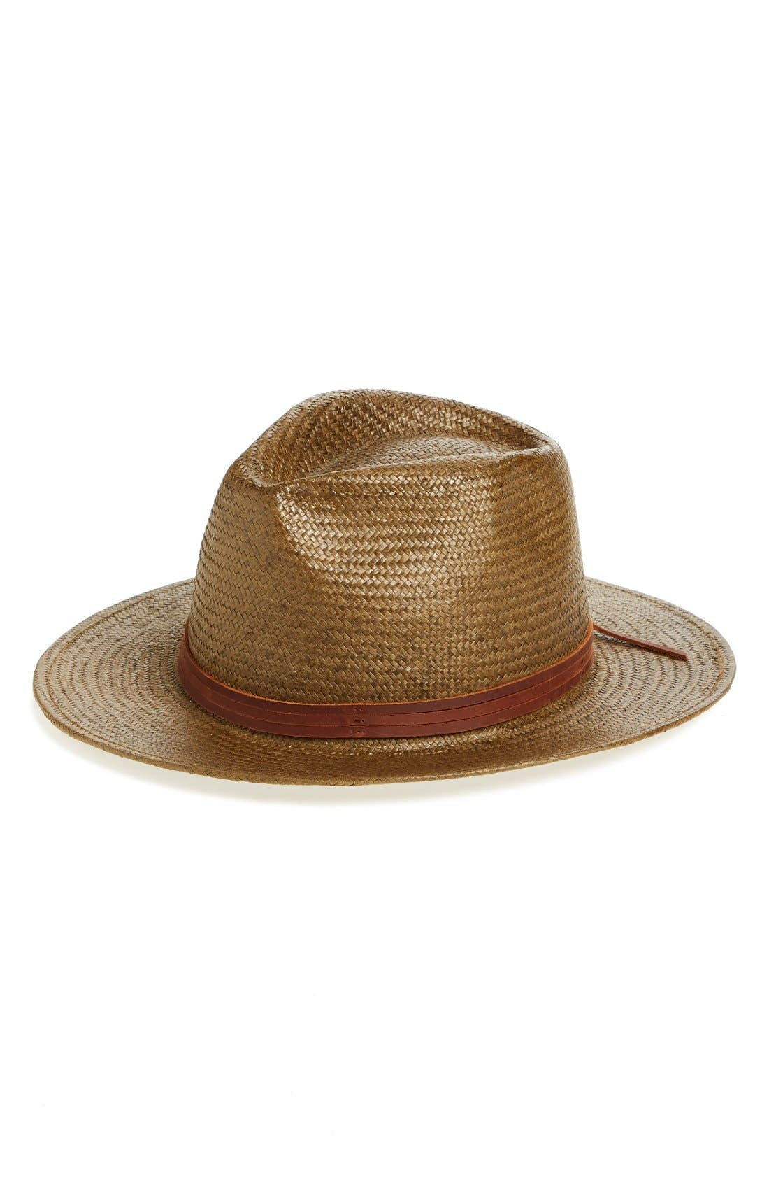 Alternate Image 1 Selected - Brixton 'Pacific' Straw Fedora