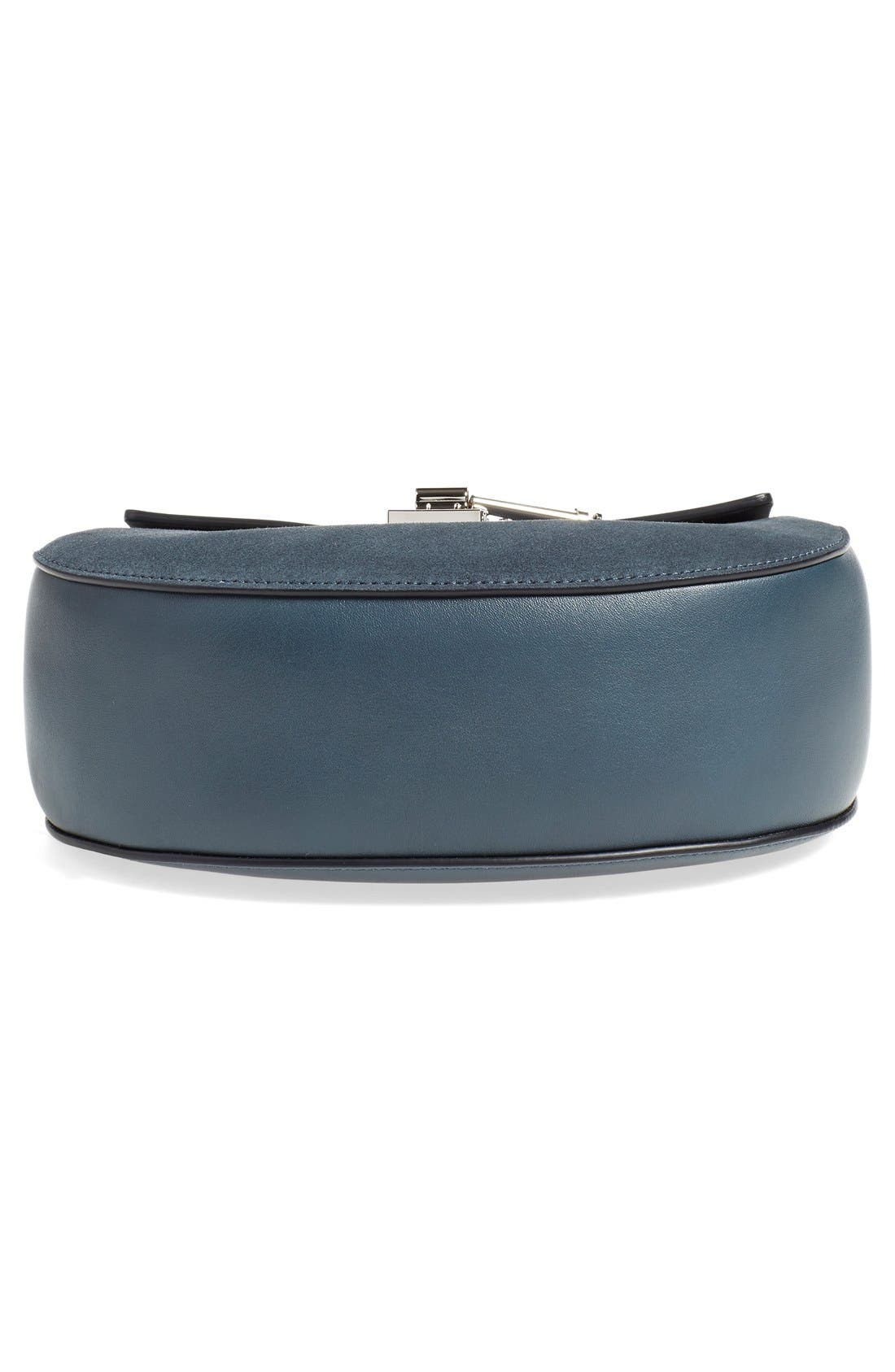 Alternate Image 5  - Chloé Small Drew Leather & Suede Shoulder Bag
