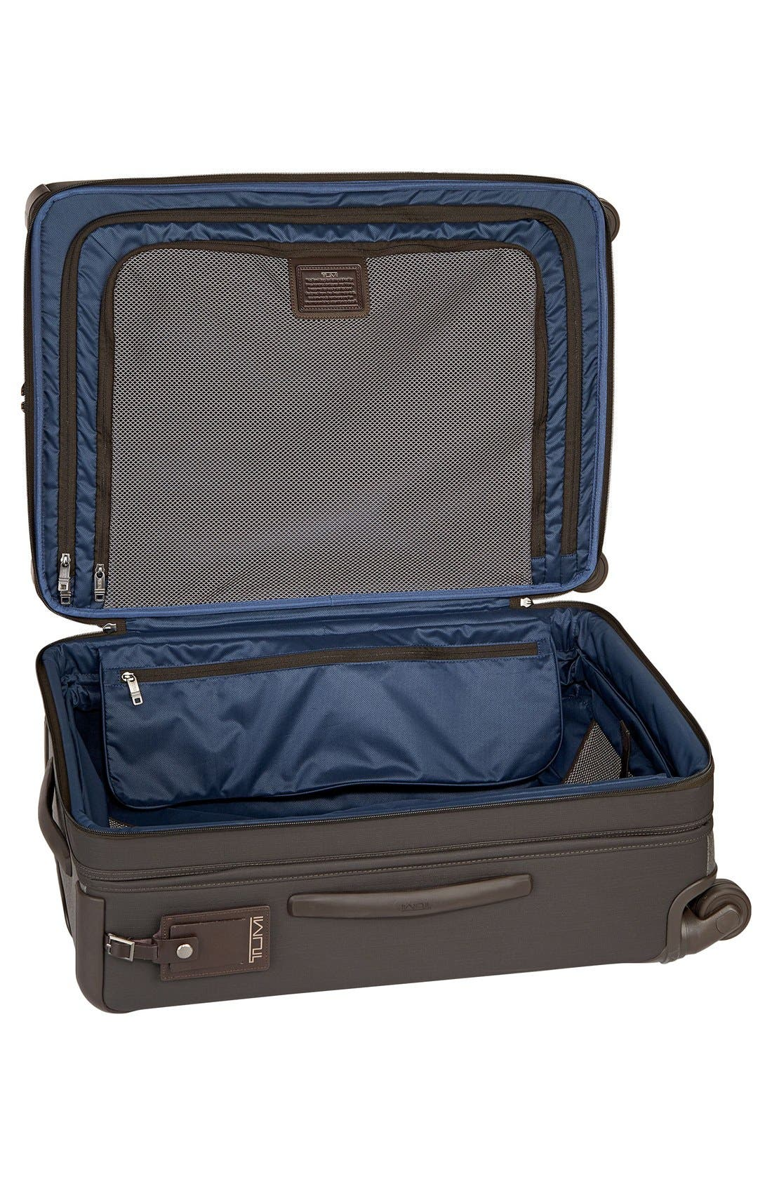 Alpha 2 Short Trip 26-Inch Rolling Four Wheel Packing Case,                             Alternate thumbnail 5, color,                             Earl Grey
