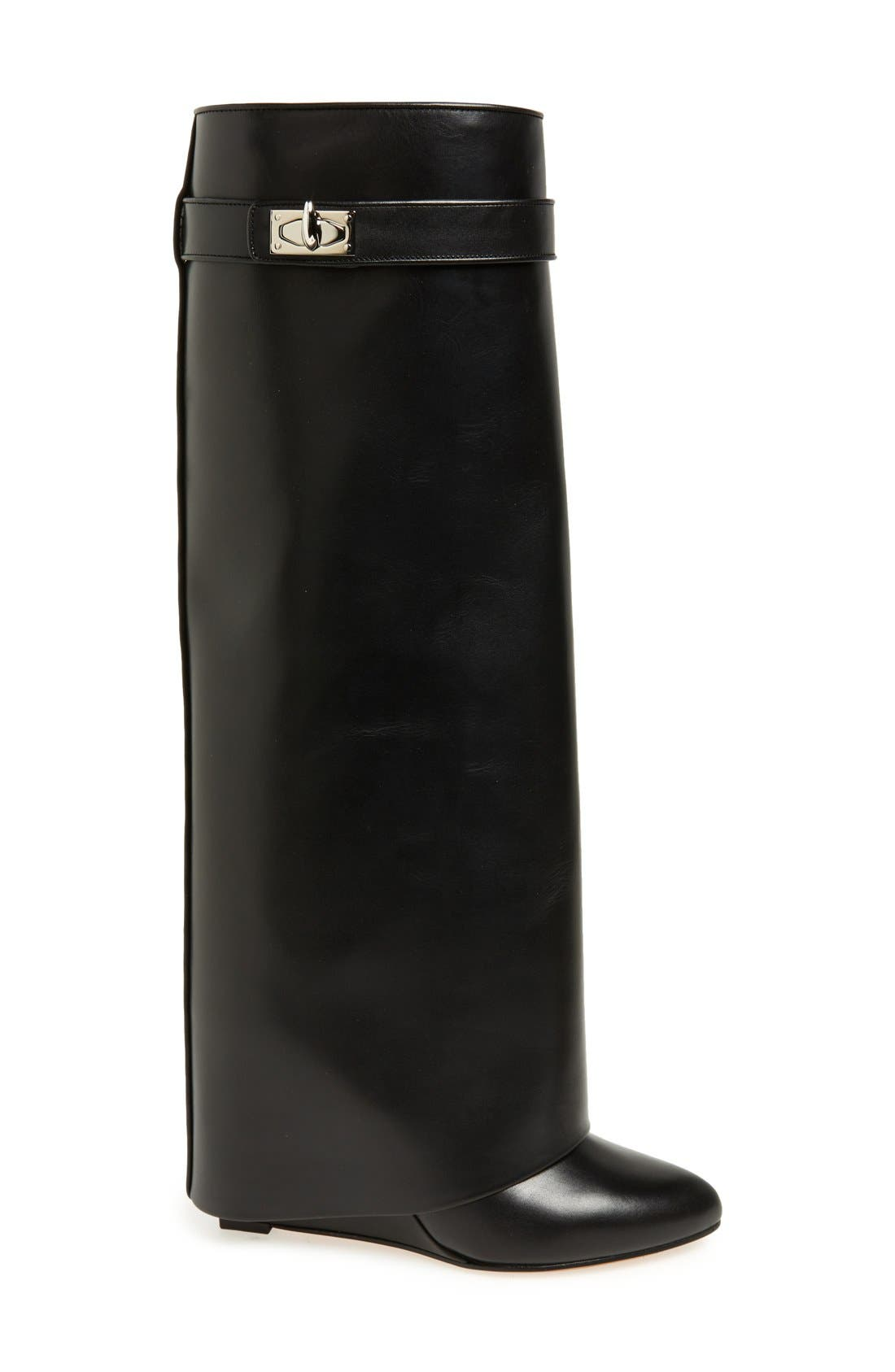 Alternate Image 4  - Givenchy Shark-Tooth Pant-Leg Knee Boot (Women)