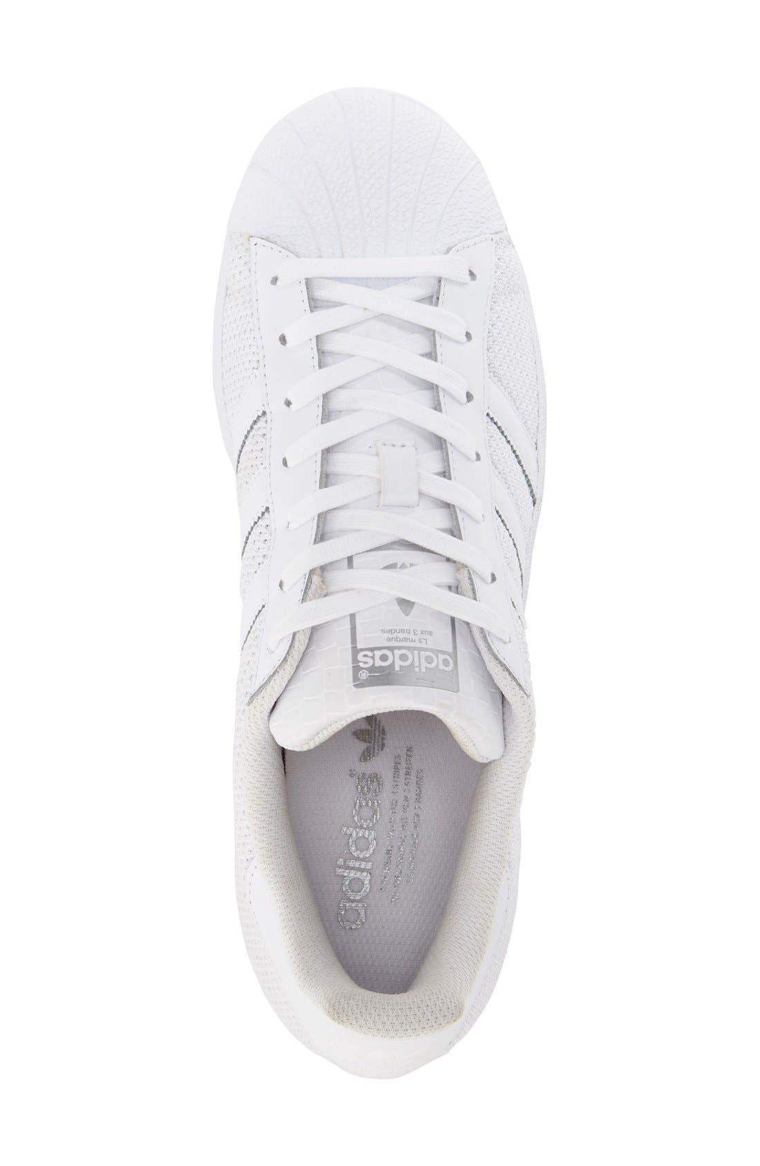 Alternate Image 3  - adidas 'Superstar' Mesh Sneaker (Women)