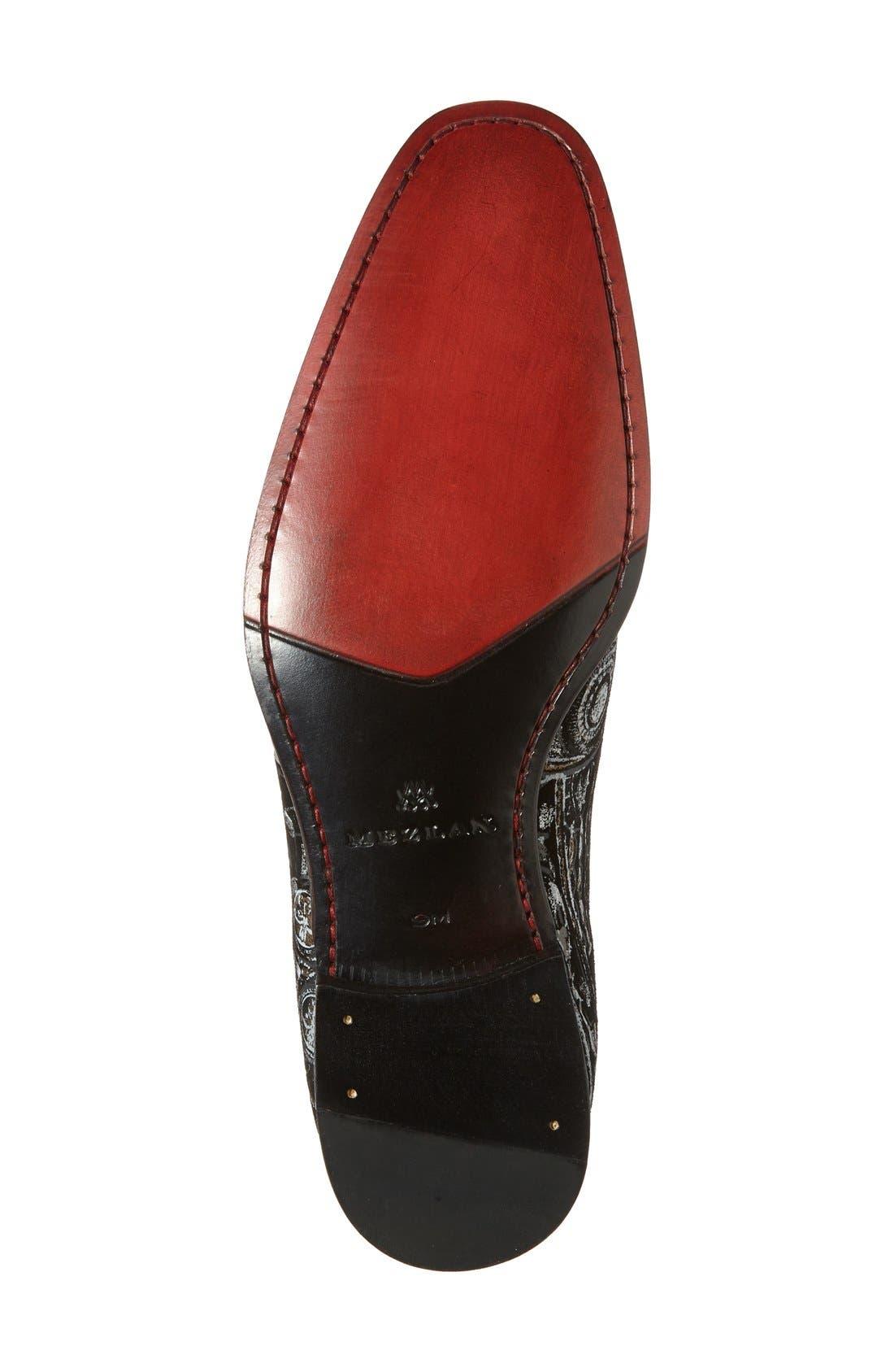 Alternate Image 4  - Mezlan 'Leno' Venetian Loafer (Men)