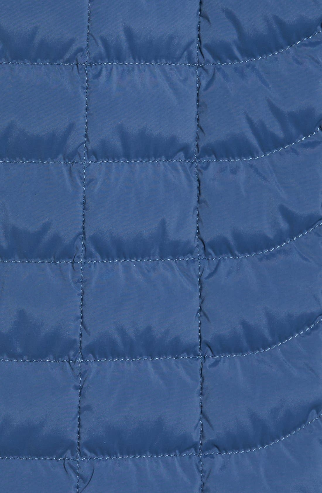 Packable Stretch ThermoBall<sup>™</sup> PrimaLoft<sup>®</sup> Jacket,                             Alternate thumbnail 5, color,                             Shady Blue