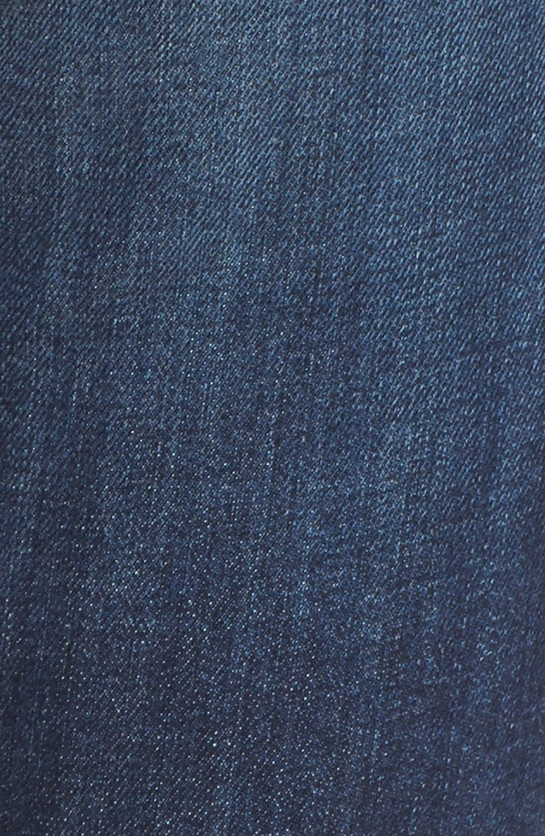 Alternate Image 6  - KUT from the Kloth 'Reese' Distressed Stretch Straight Leg Ankle Jeans (Capability) (Regular & Petite)