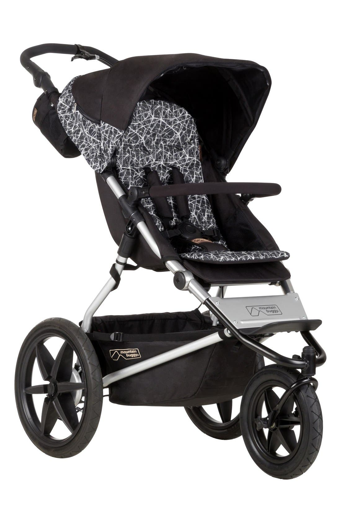 All Terrain Jogging Stroller,                             Main thumbnail 1, color,                             Graphite