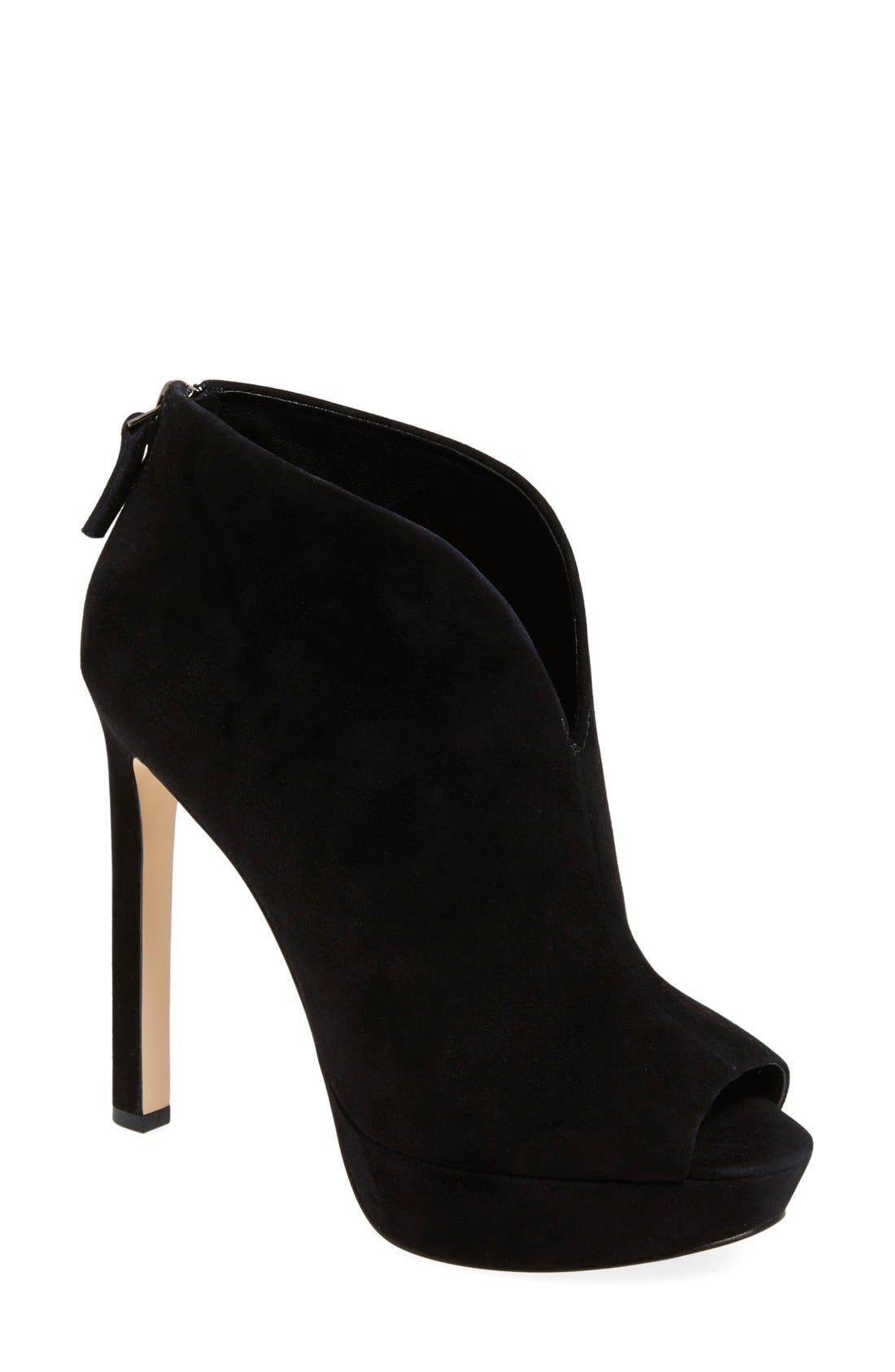 Main Image - Nine West 'Vain' Platform Bootie (Women)