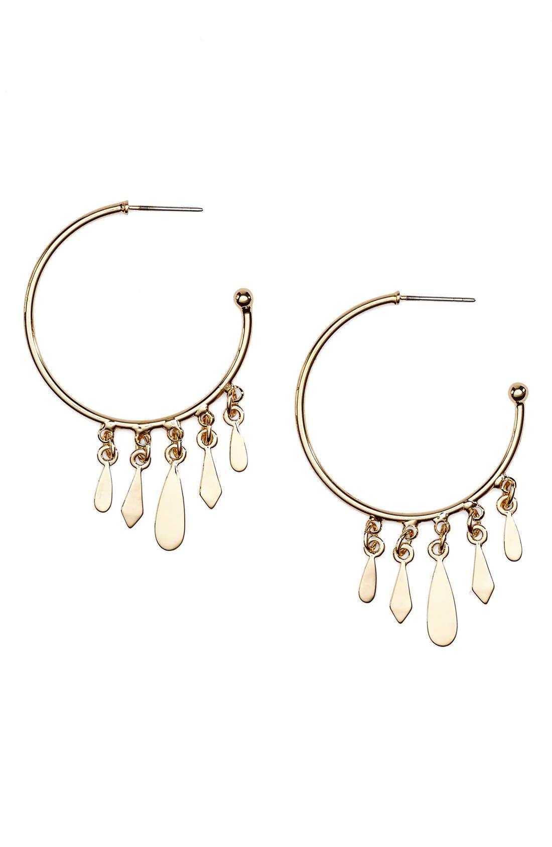 JULES SMITH Clary Hoop Earrings