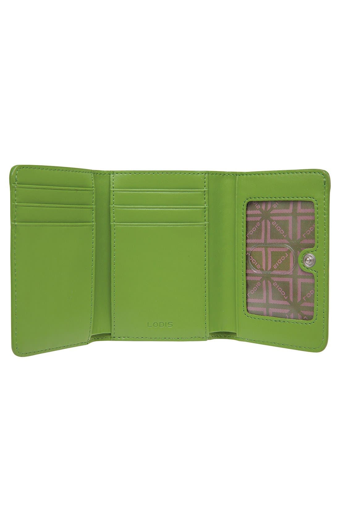 Alternate Image 3  - Lodis 'Audrey - Mallory' Leather French Wallet