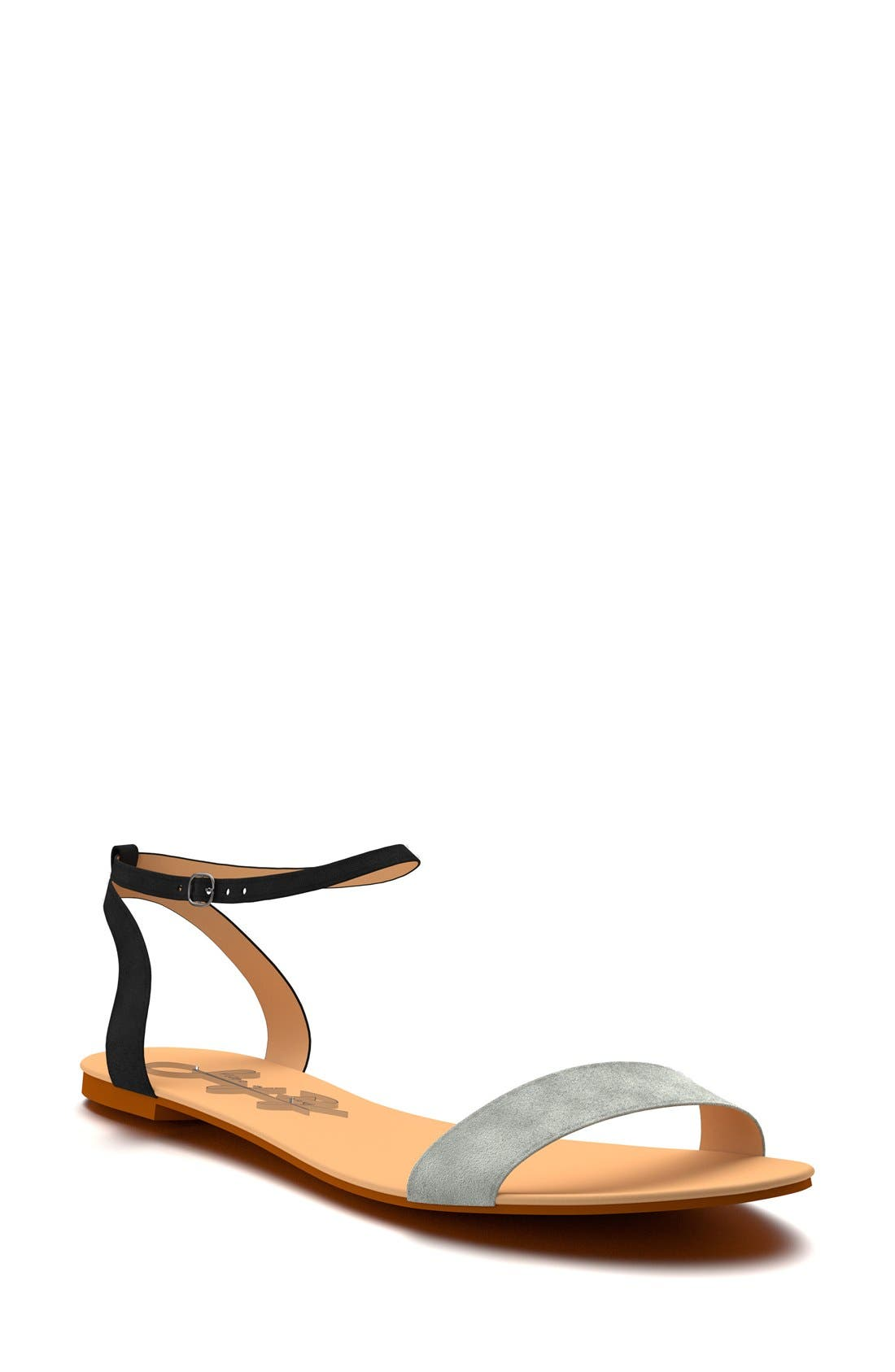Main Image - Shoes of Prey Ankle Strap Sandal (Women)