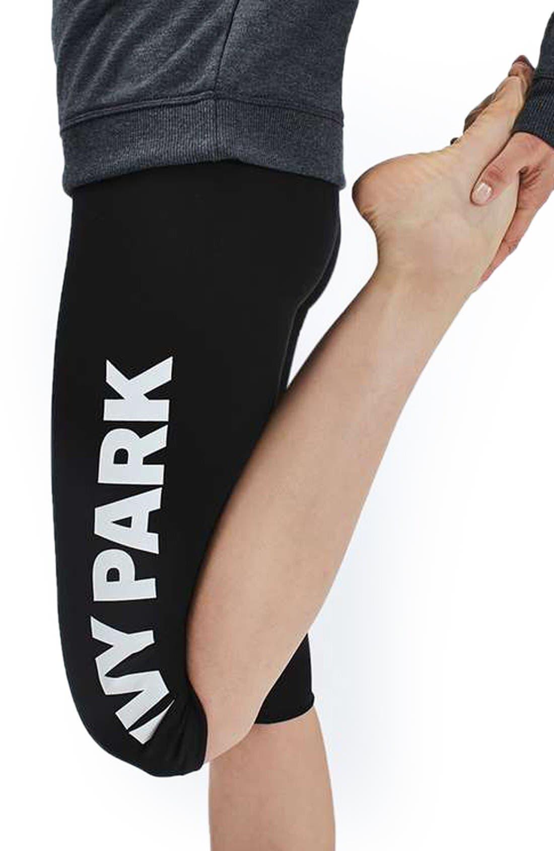 Alternate Image 4  - IVY PARK® Logo Capri Leggings