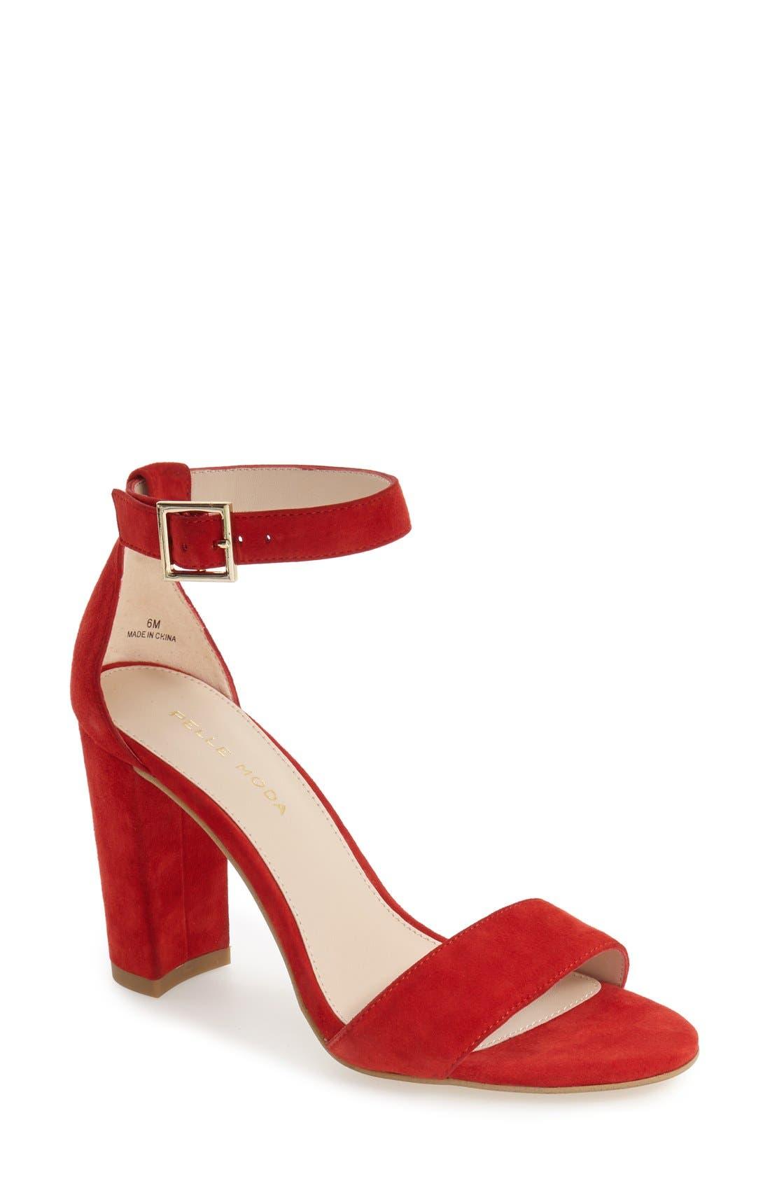 Pelle Moda 'Bonnie' Ankle Strap Sandal (Women) | Nordstrom