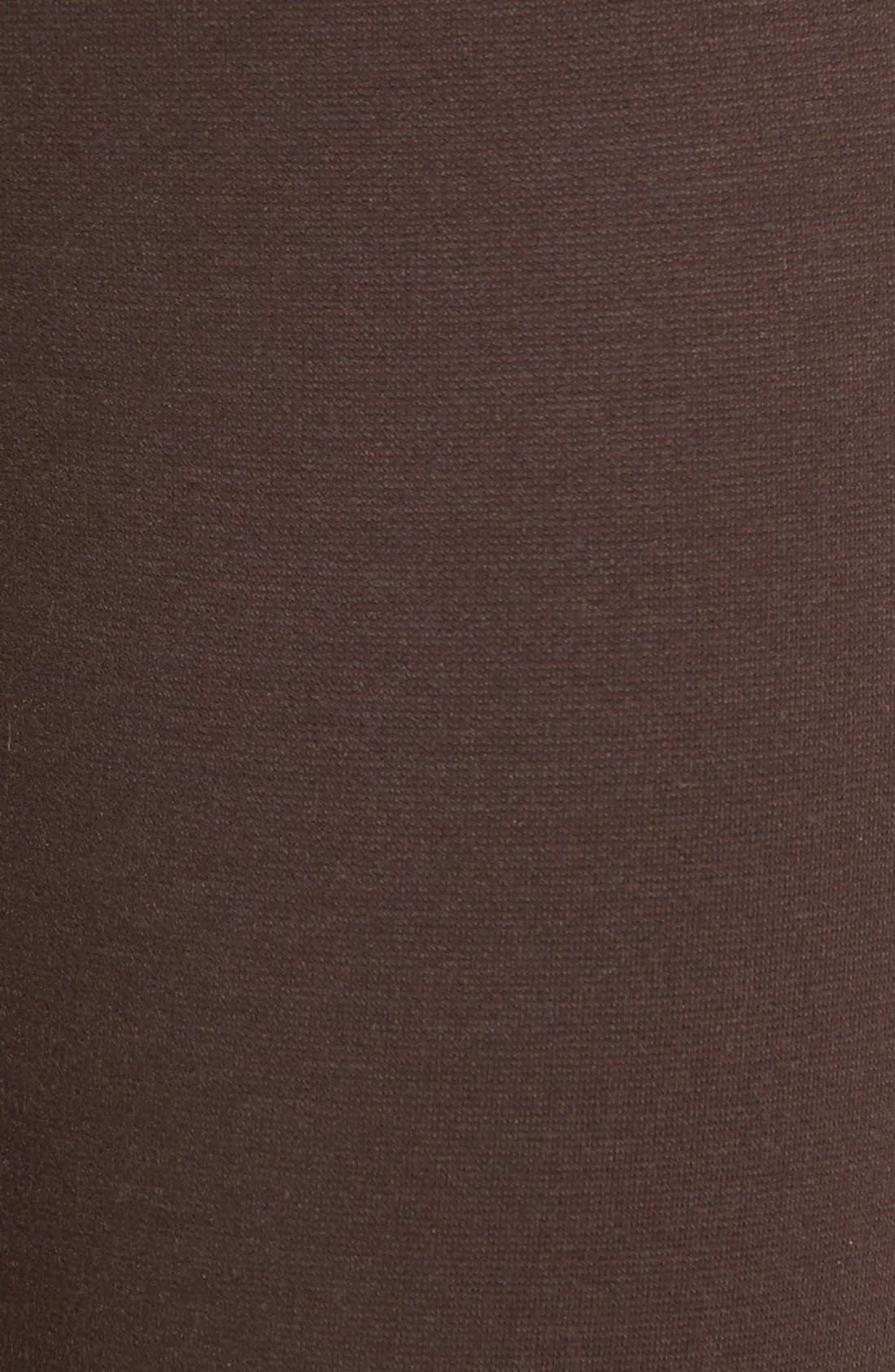 Alternate Image 5  - Eileen Fisher Tencel® Blend Ponte Slim Leg Pants