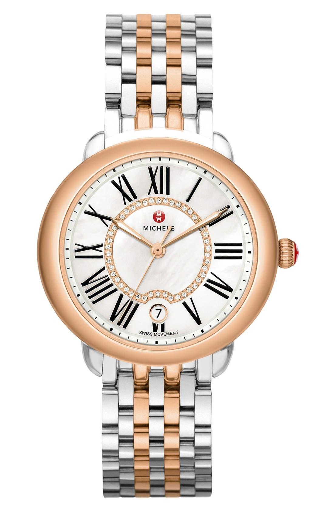Alternate Image 2  - MICHELE Serein 16 16mm Bracelet Watchband