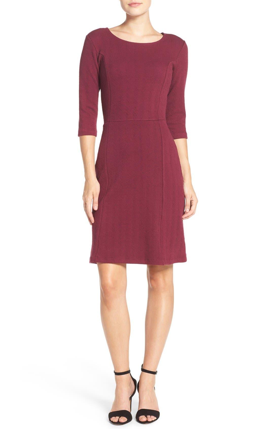 Alternate Image 4  - Leota 'Avery' Jacquard Knit Sheath Dress