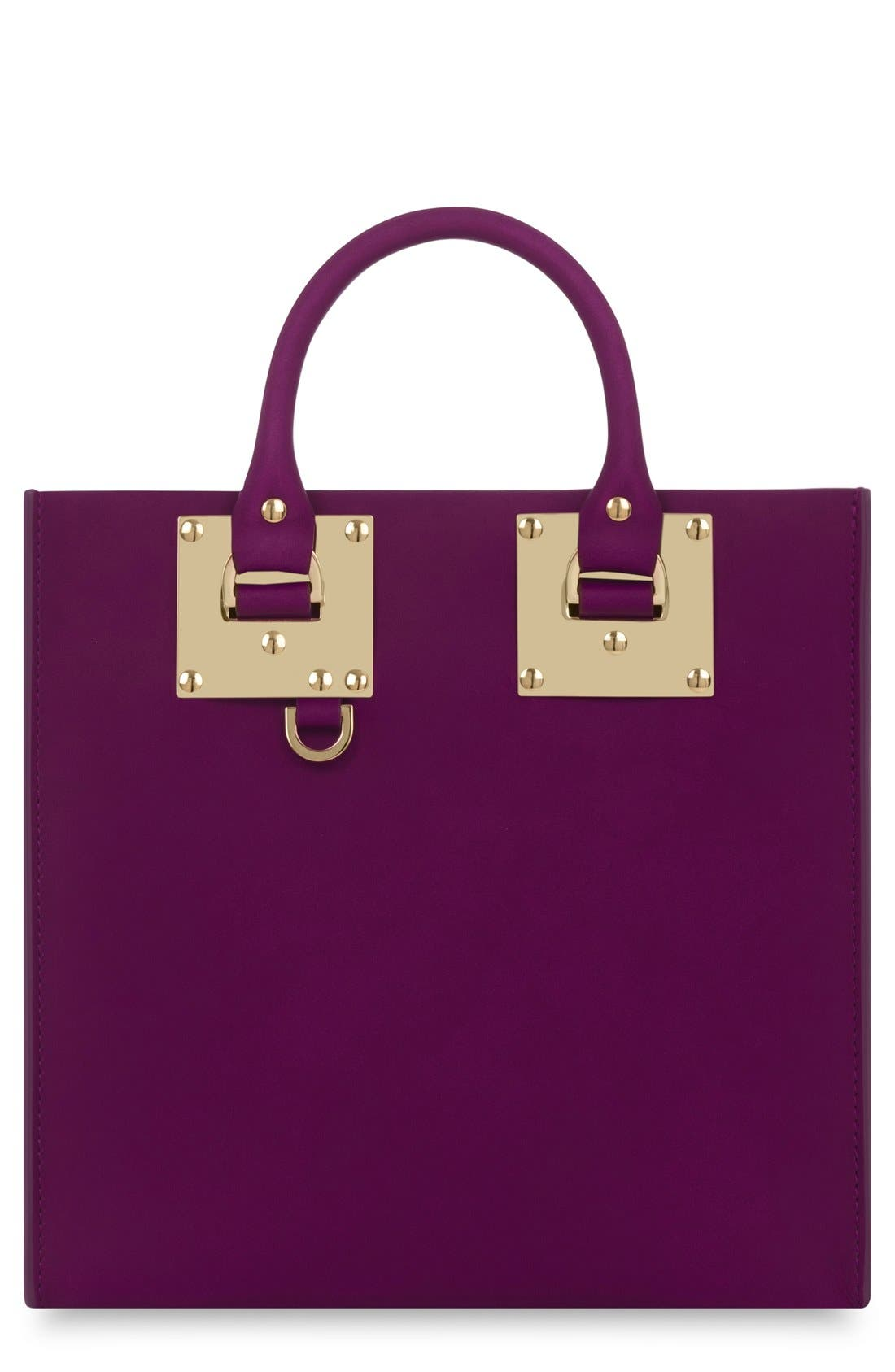 Main Image - Sophie Hulme Albion Square Leather Tote