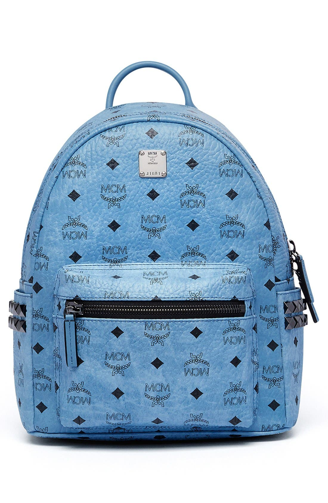 Alternate Image 5  - MCM 'Small Stark' Side Stud Backpack