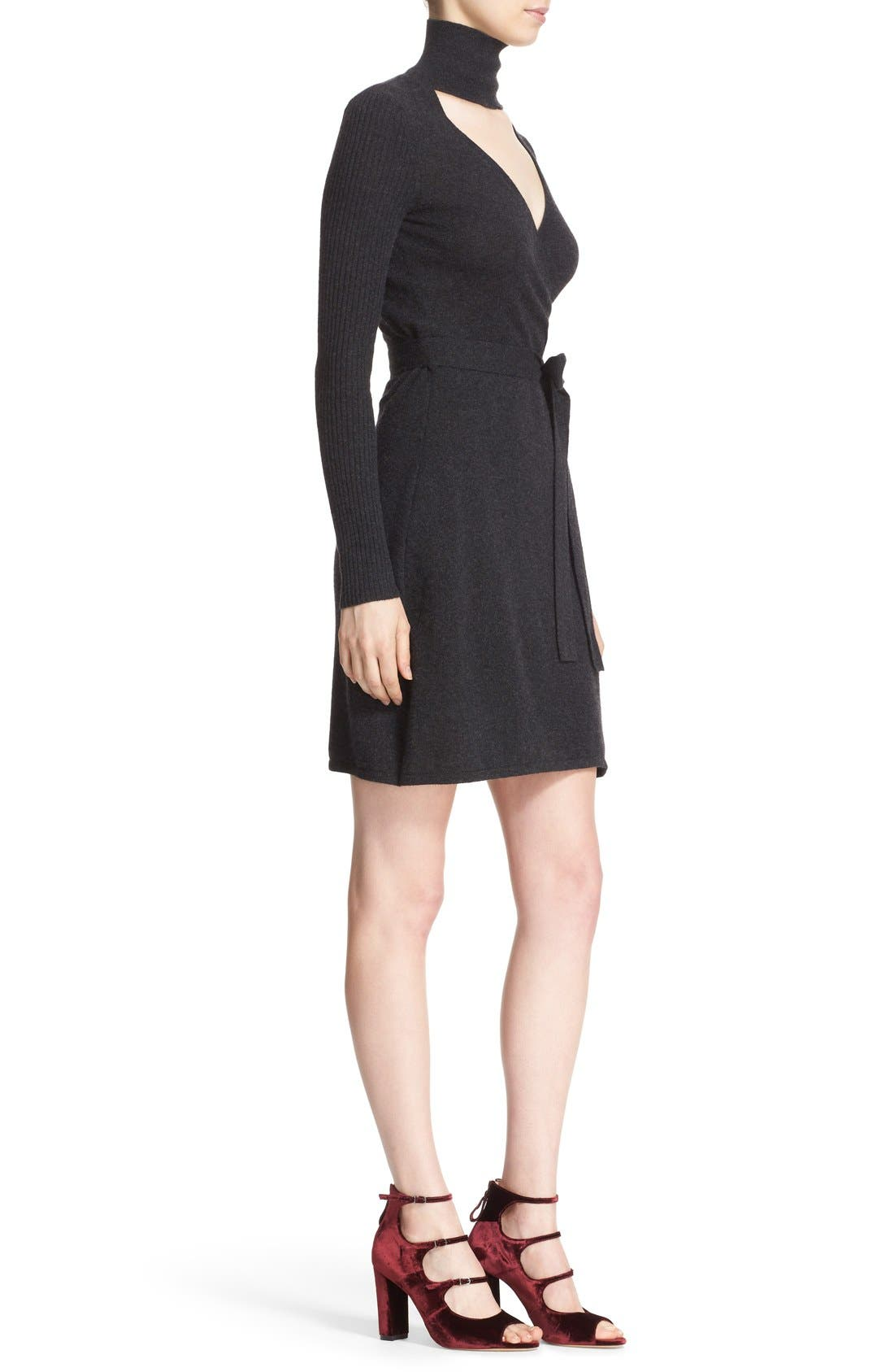Alternate Image 3  - Diane von Furstenberg 'Janeva' Wool & Cashmere Wrap Dress