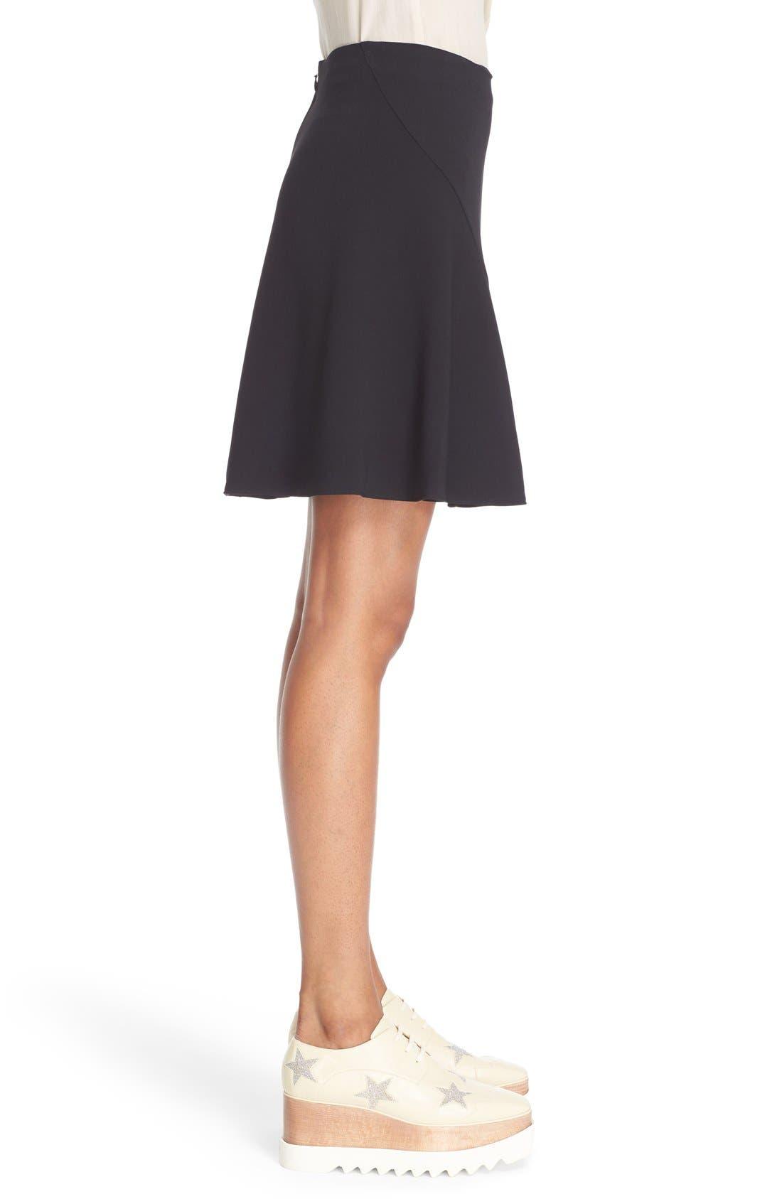 Alternate Image 4  - Stella McCartney Stretch Cady Skater Skirt