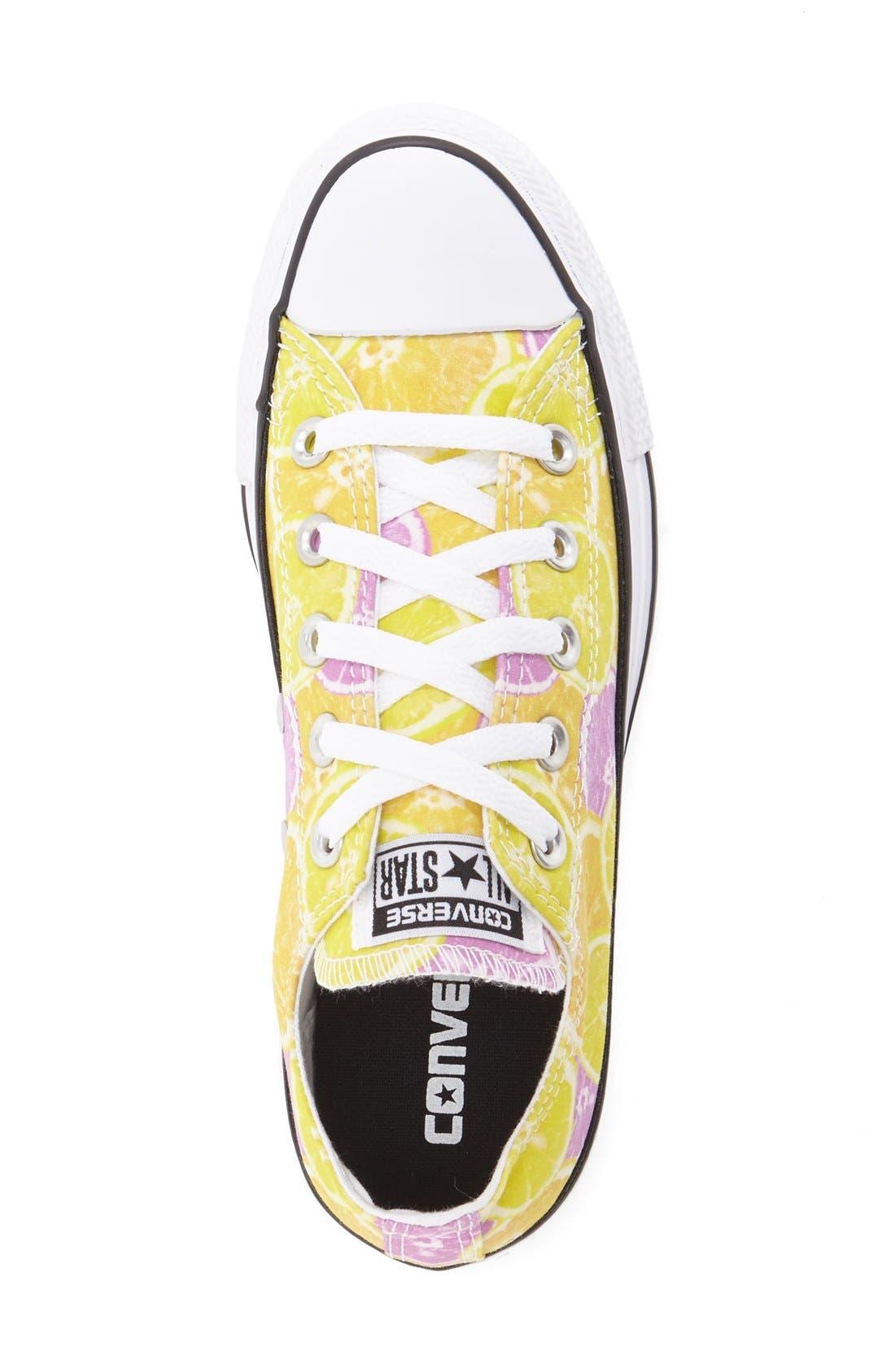 Alternate Image 3  - Converse Chuck Taylor® All Star® 'Fruit - Ox' Sneaker (Women)