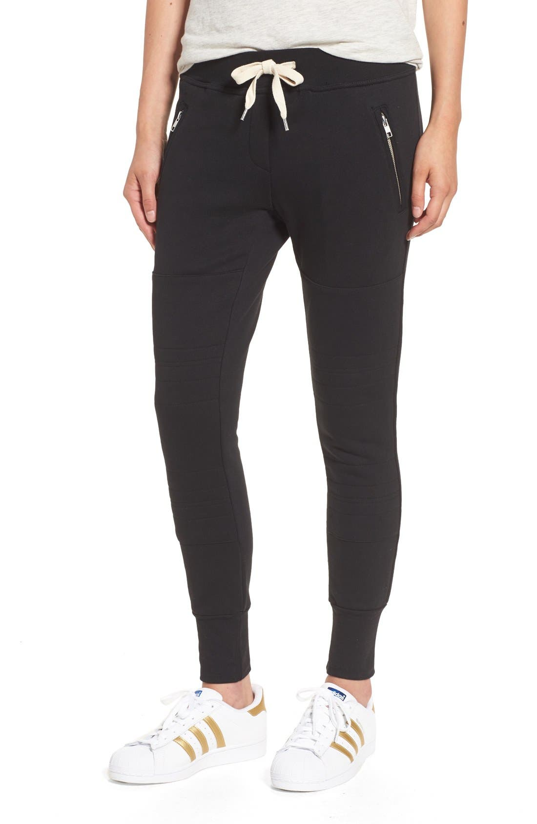 Sincerely Jules 'Lux' Skinny Cotton Jogger Pants