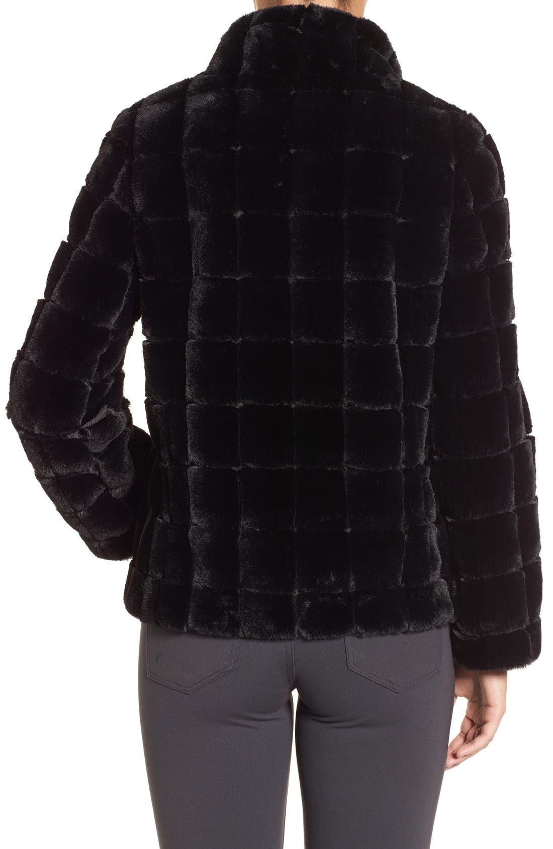Alternate Image 2  - Kristen Blake Faux Fur Jacket