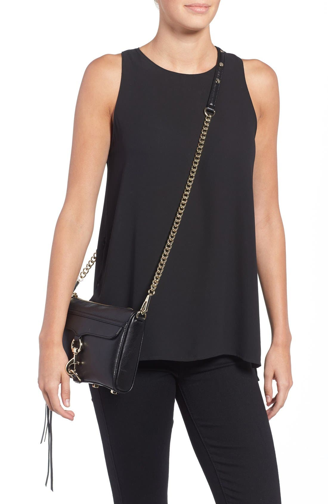 Alternate Image 2  - Rebecca Minkoff Mini MAC Convertible Crossbody Bag