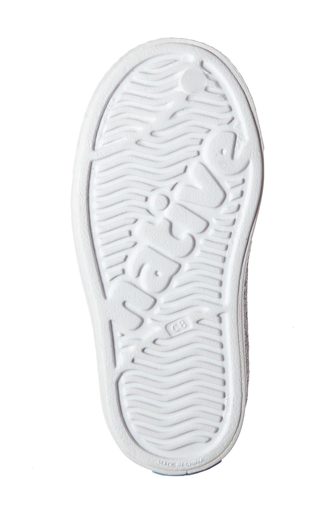 Alternate Image 4  - Native Shoes 'Jefferson - Bling' Slip-On Sneaker (Baby, Walker, Toddler & Little Kid)