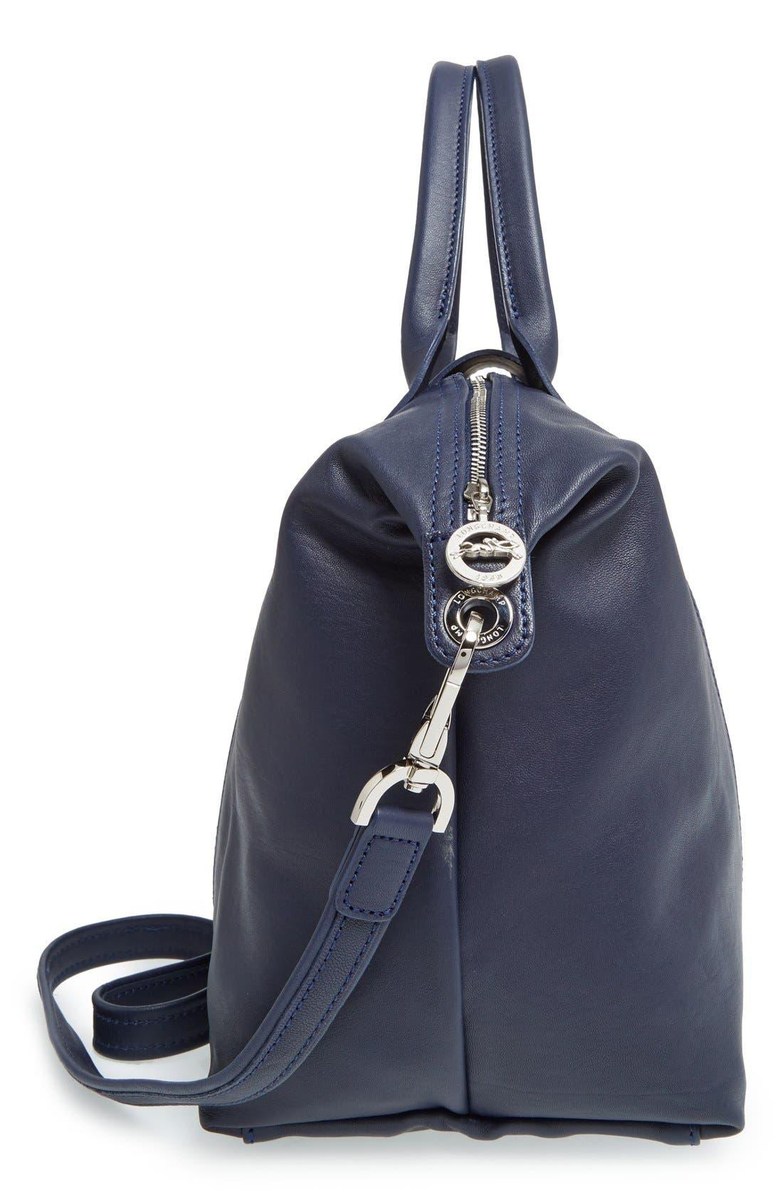 Alternate Image 5  - Longchamp 'Le Pliage Cuir' Leather Handbag
