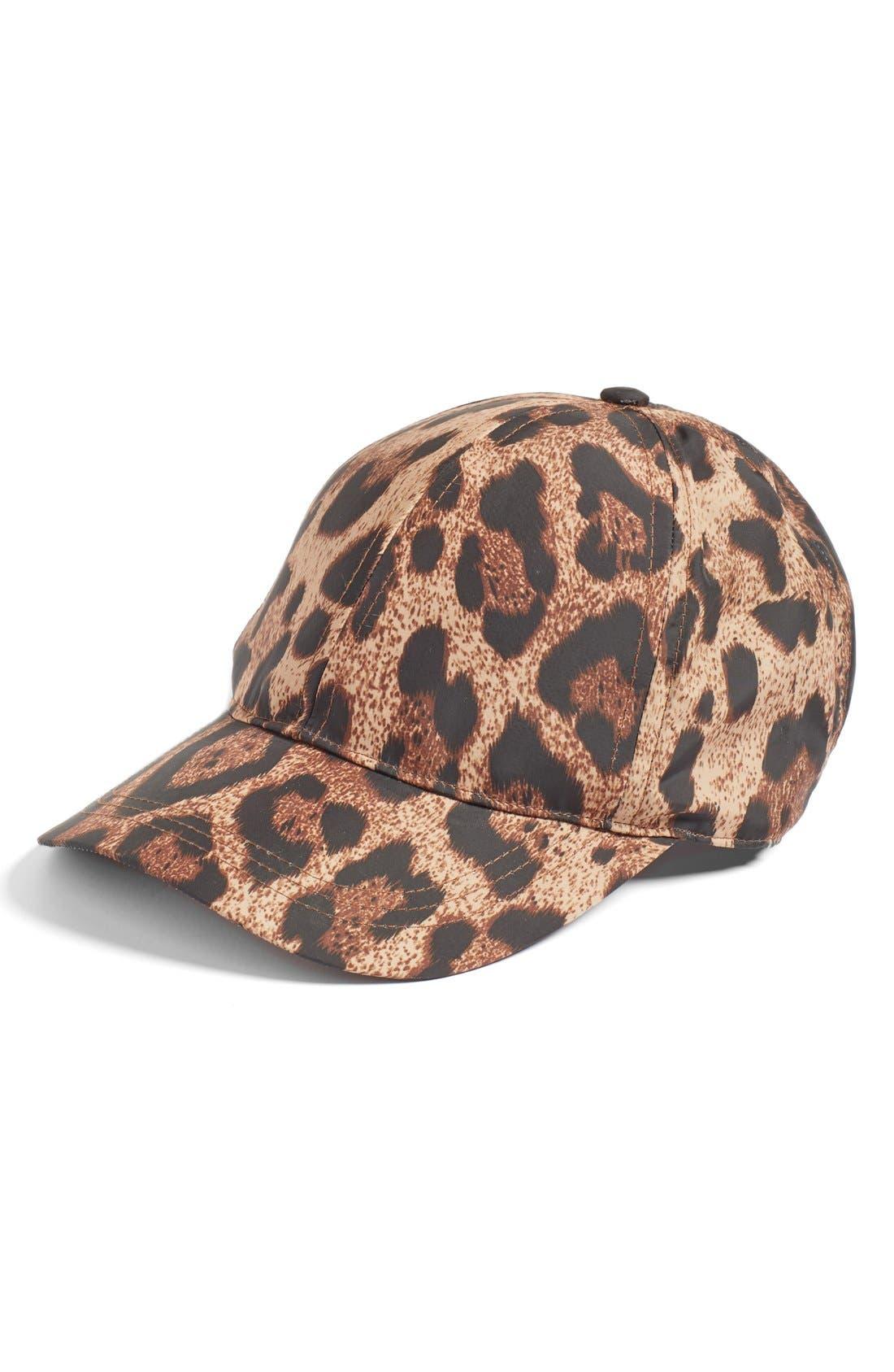 August Hat Nylon Baseball Cap