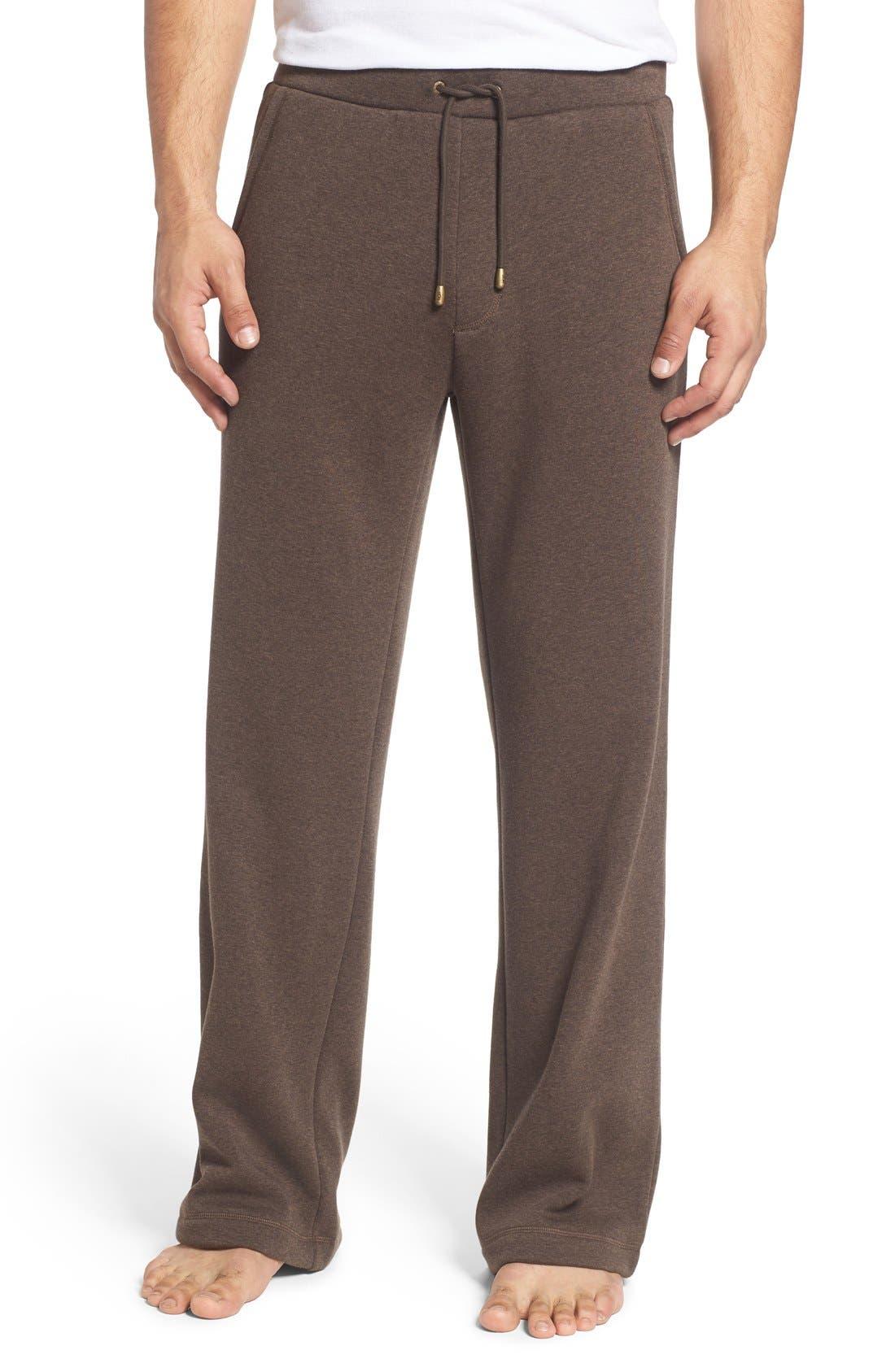 'Colton' Lounge Pants,                         Main,                         color, Stout Heather