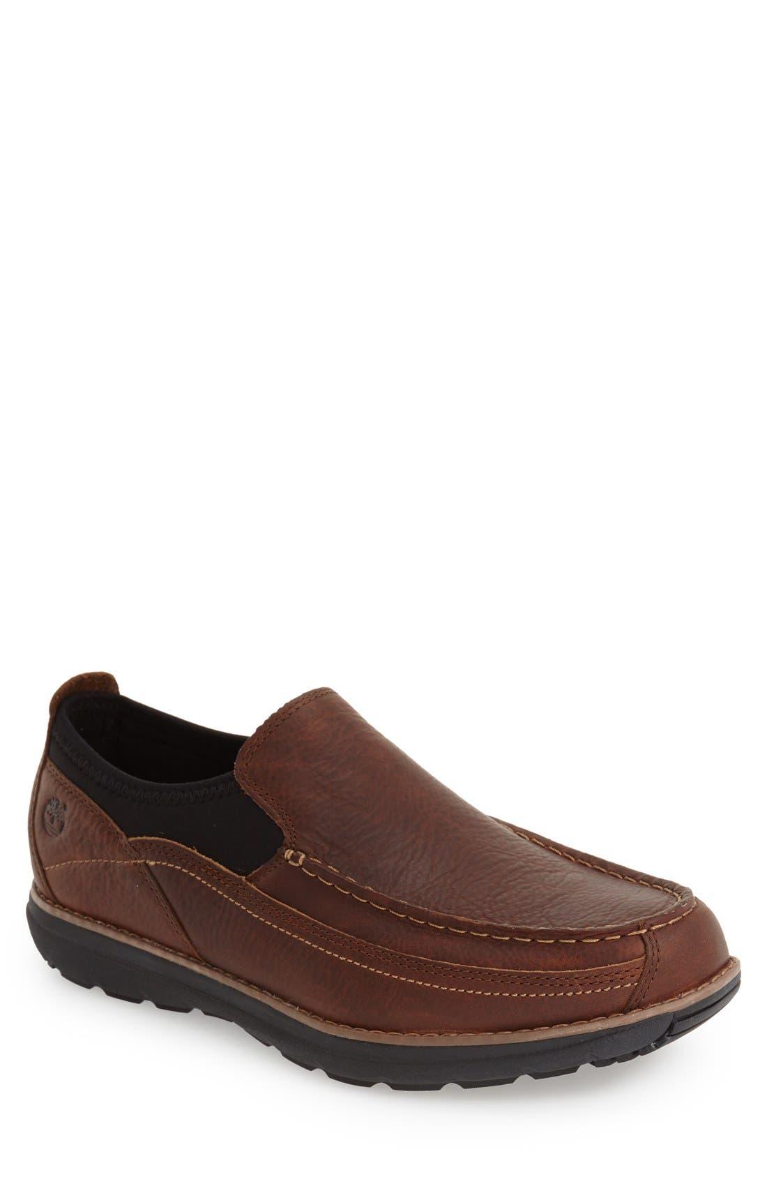 'Barrett Park' Slip-On,                         Main,                         color, Medium Brown