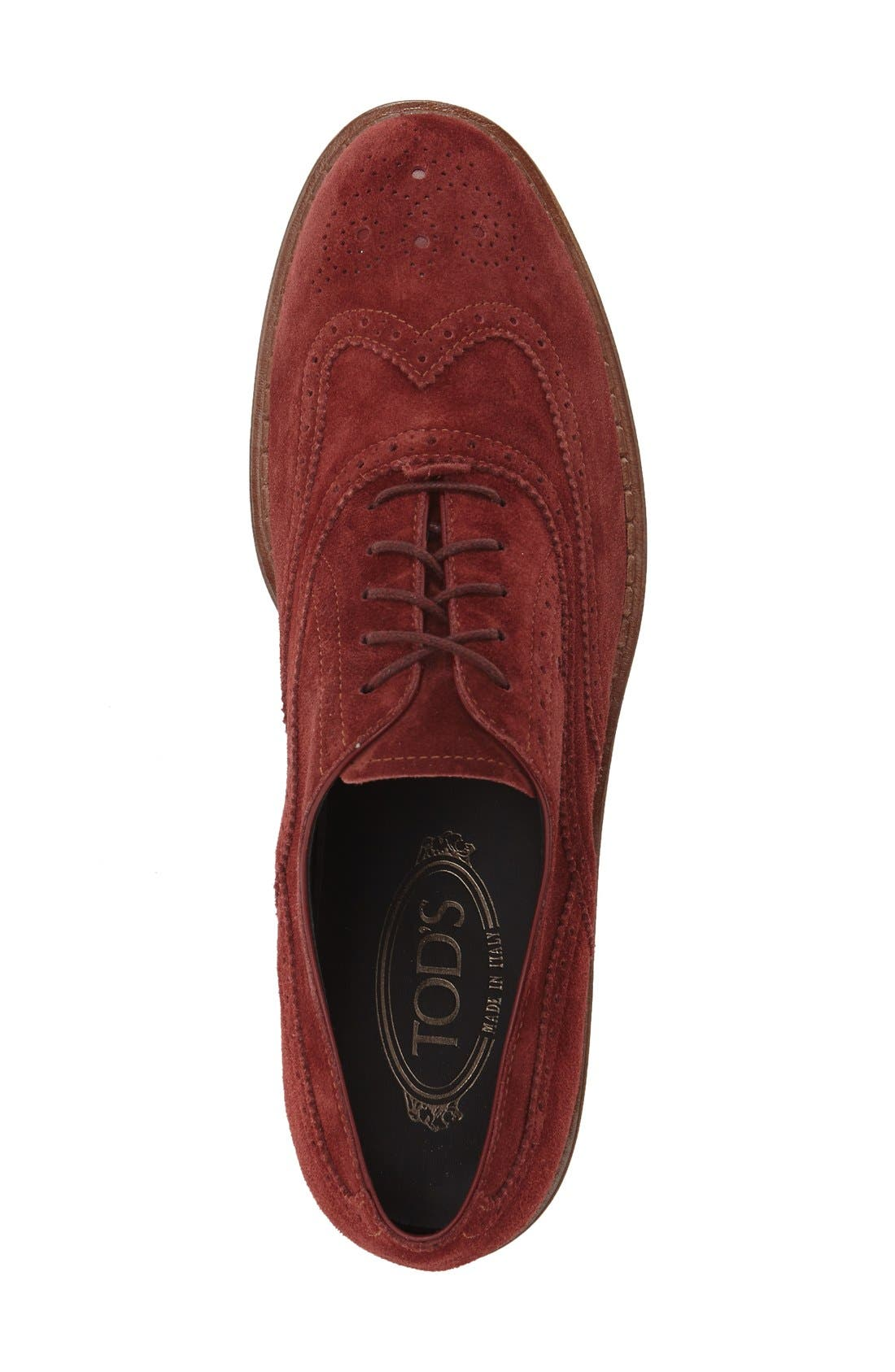 Alternate Image 3  - Tod's 'Lightsole' Creeper Wingtip Oxford (Women) (Nordstrom Exclusive)