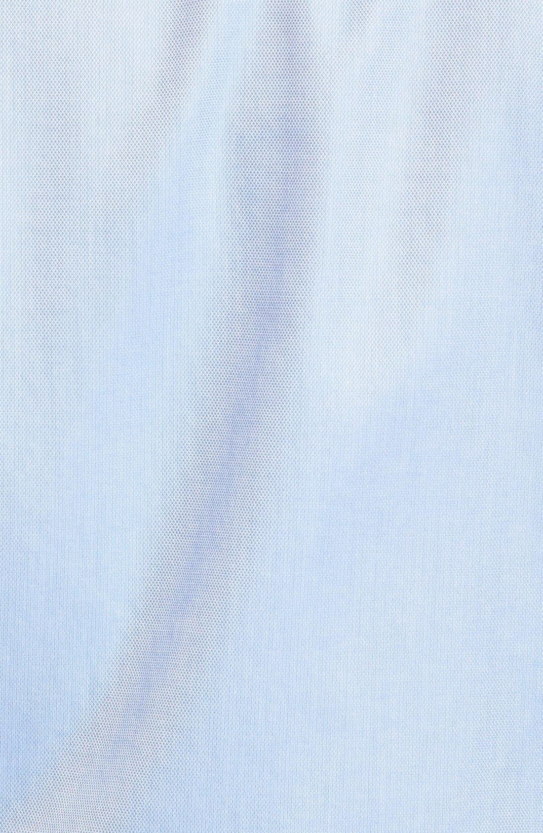 San Juan Classic Fit Wrinkle Free Solid Sport Shirt,                             Alternate thumbnail 5, color,                             Blue