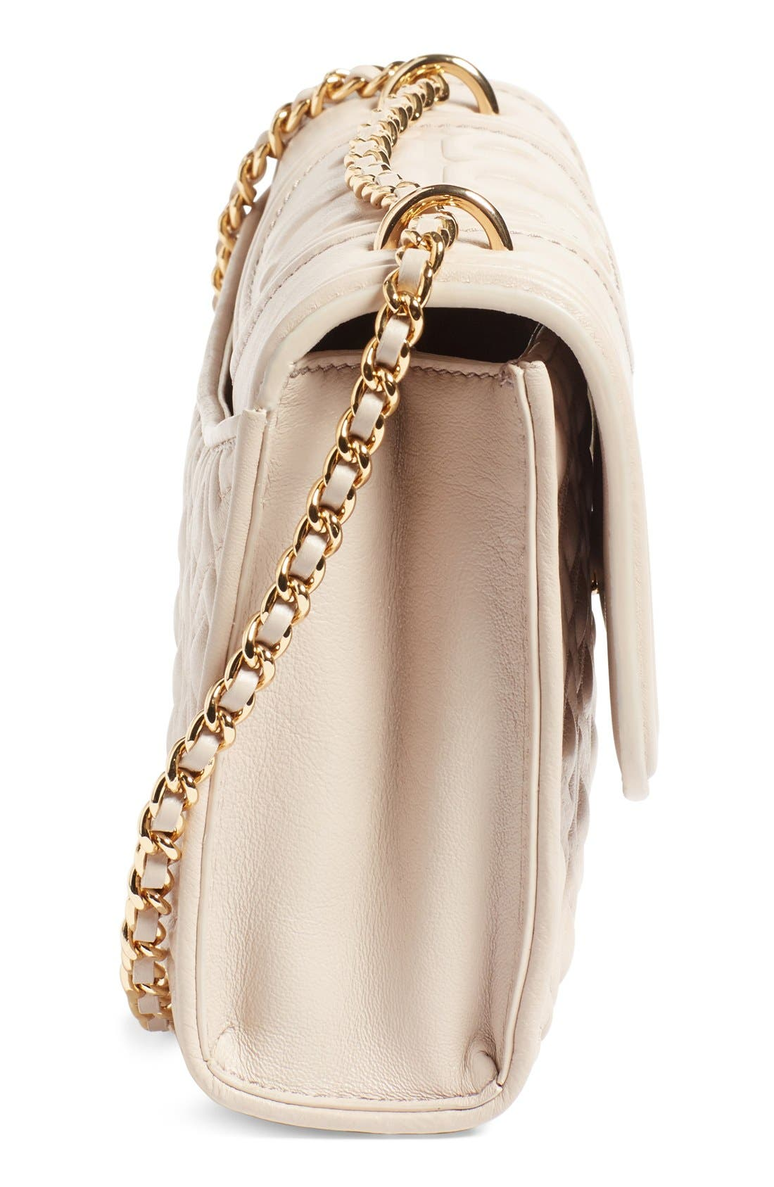 Alternate Image 5  - Tory Burch 'Small Fleming' Quilted Leather Shoulder Bag