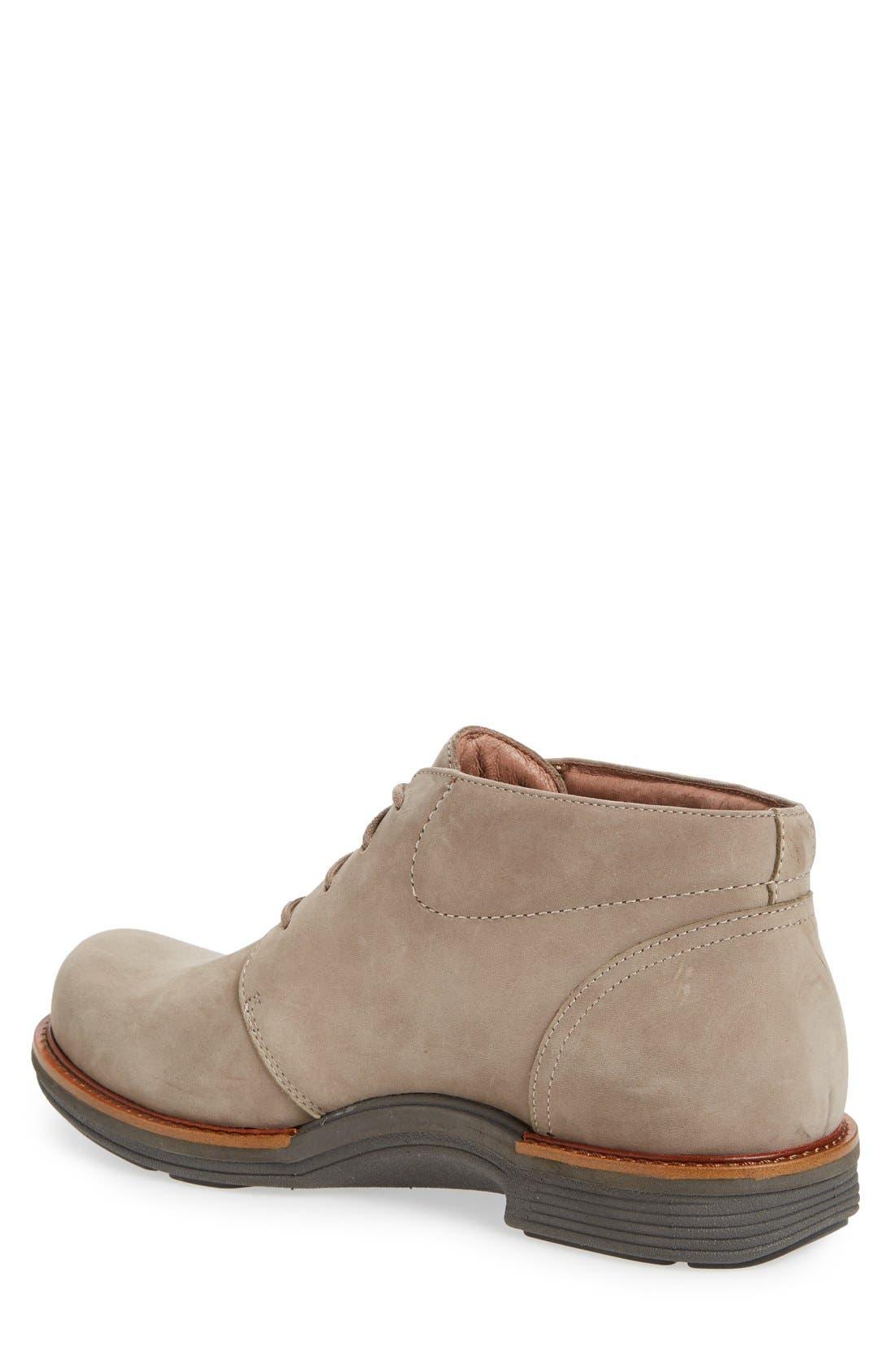 'Jake' Chukka Boot,                             Alternate thumbnail 2, color,                             Taupe Milled Nubuck Leather