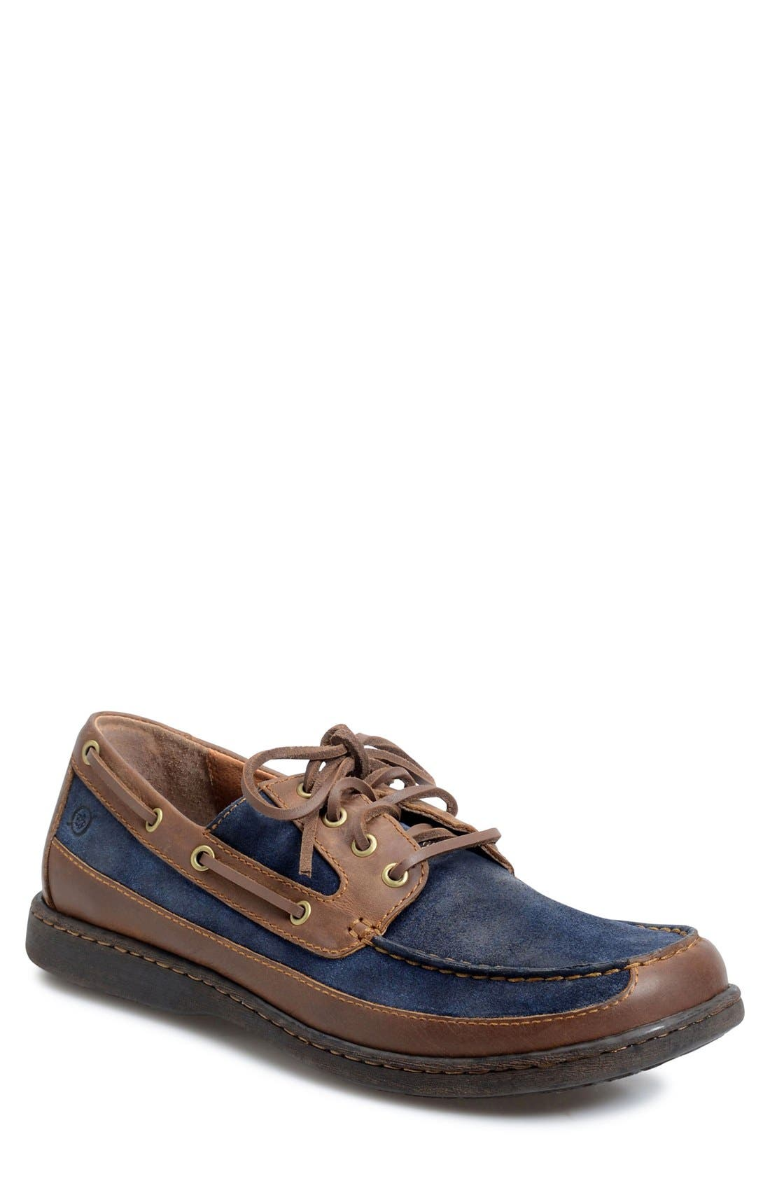 'Harwich' Boat Shoe,                         Main,                         color, Blue