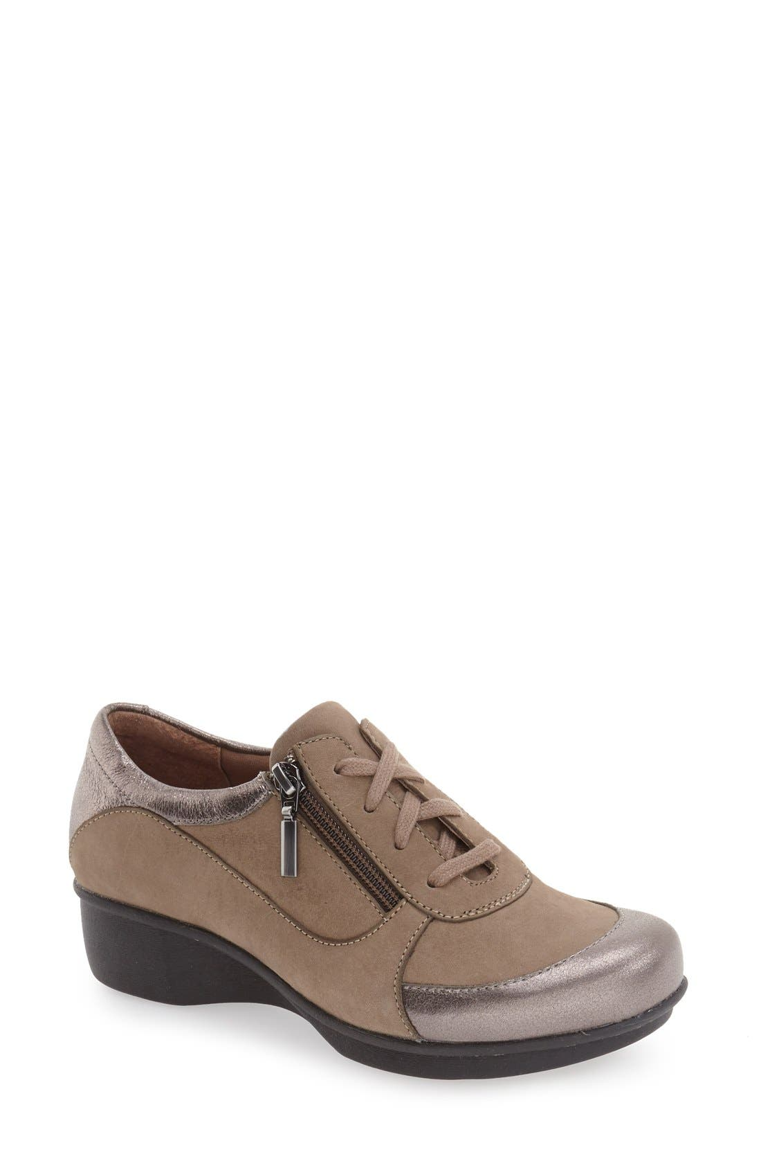 Alternate Image 1 Selected - Dansko 'Loretta' Platform Sneaker (Women)