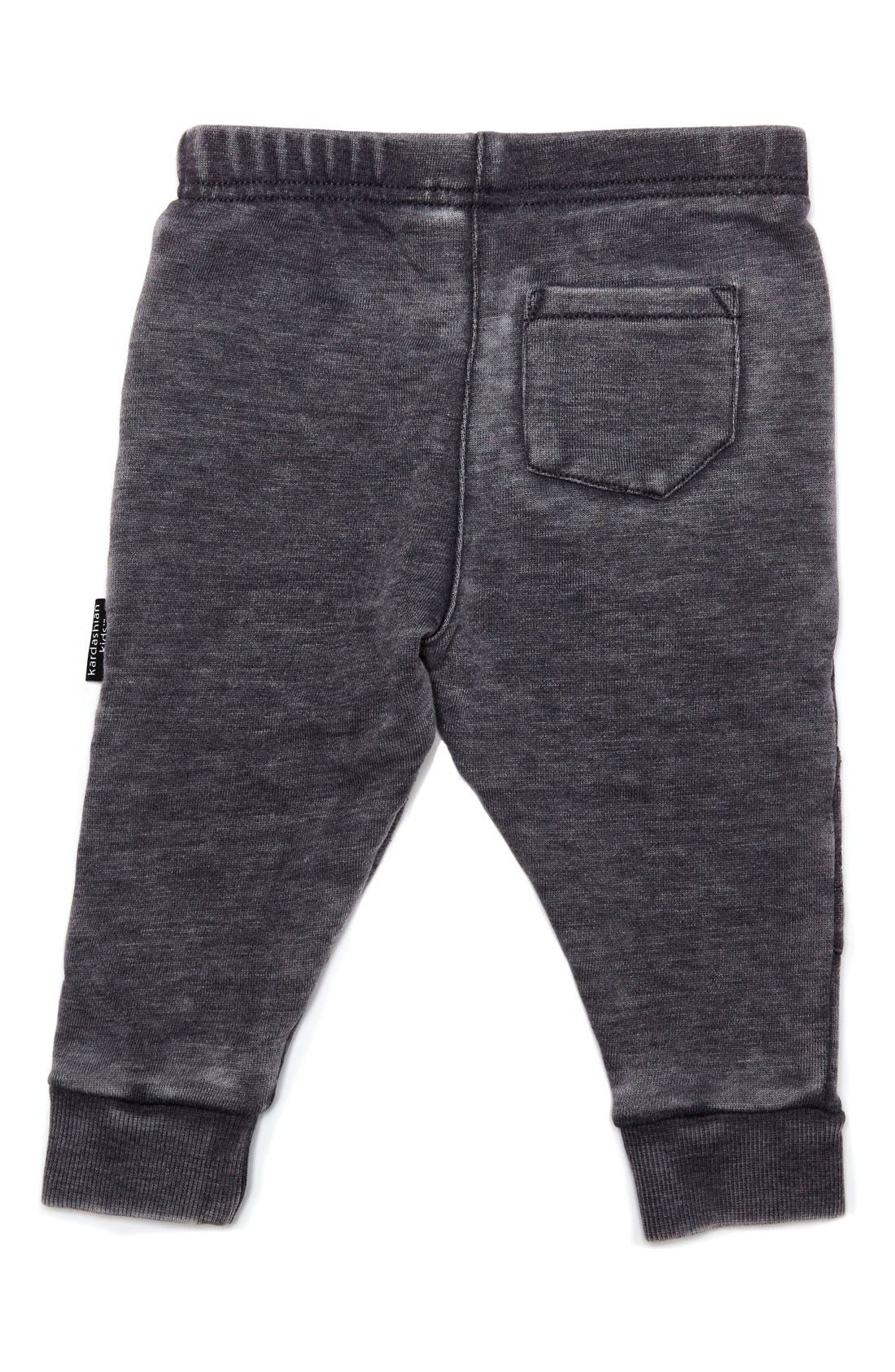 Alternate Image 2  - Kardashian Kids Quilted Jogger Pants (Toddler Boys & Little Boys)