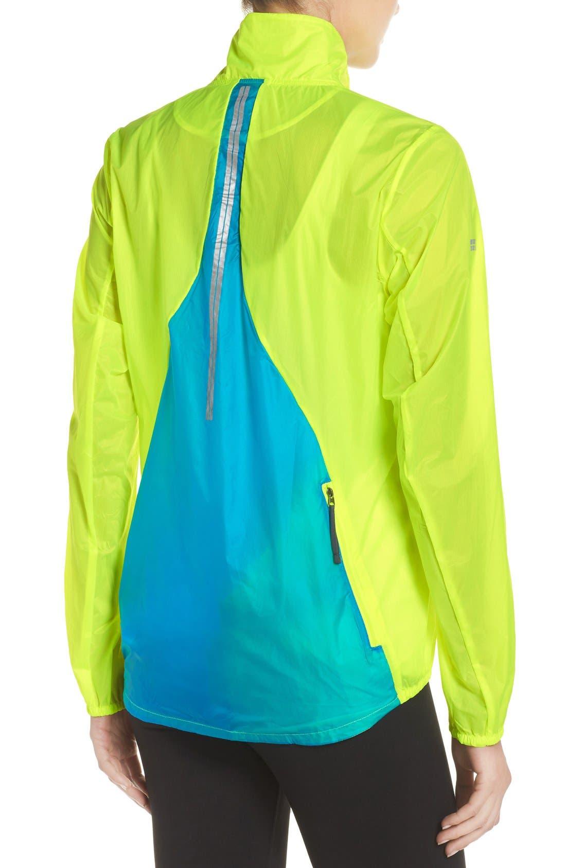 Water Resistant Ripstop Jacket,                             Alternate thumbnail 2, color,                             Nightlife/ Ultra Blue